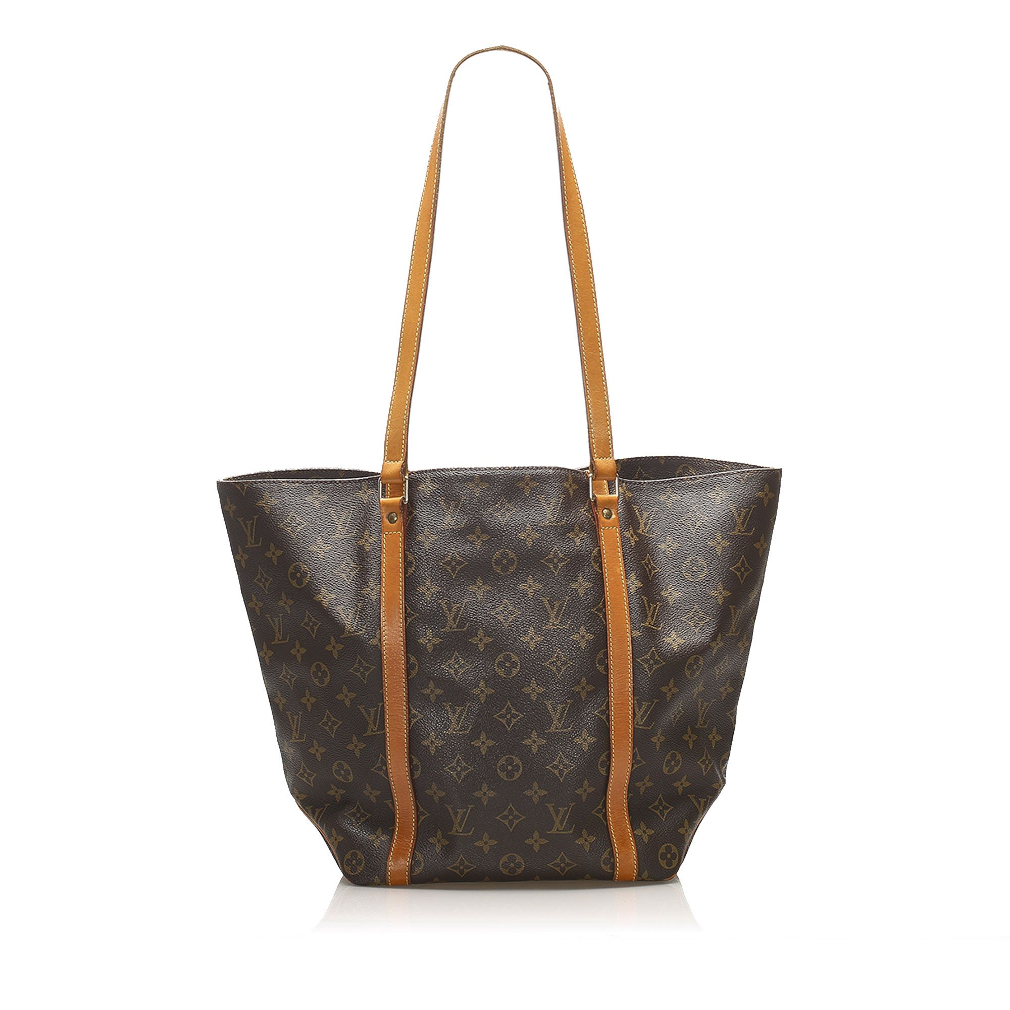 Vintage Louis Vuitton Monogram Sac Shopping 48 Brown