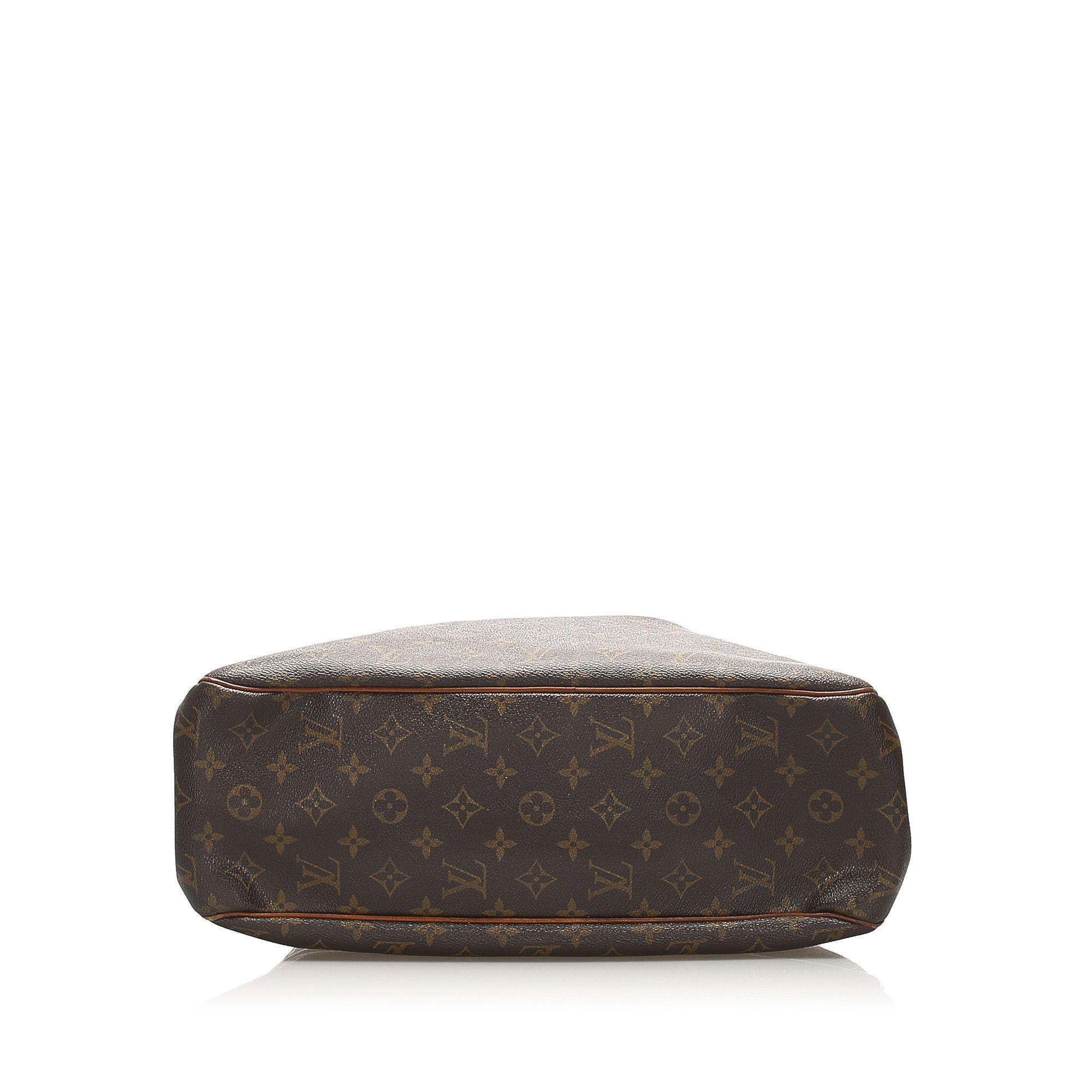 Vintage Louis Vuitton Monogram Batignolles Horizontal Brown