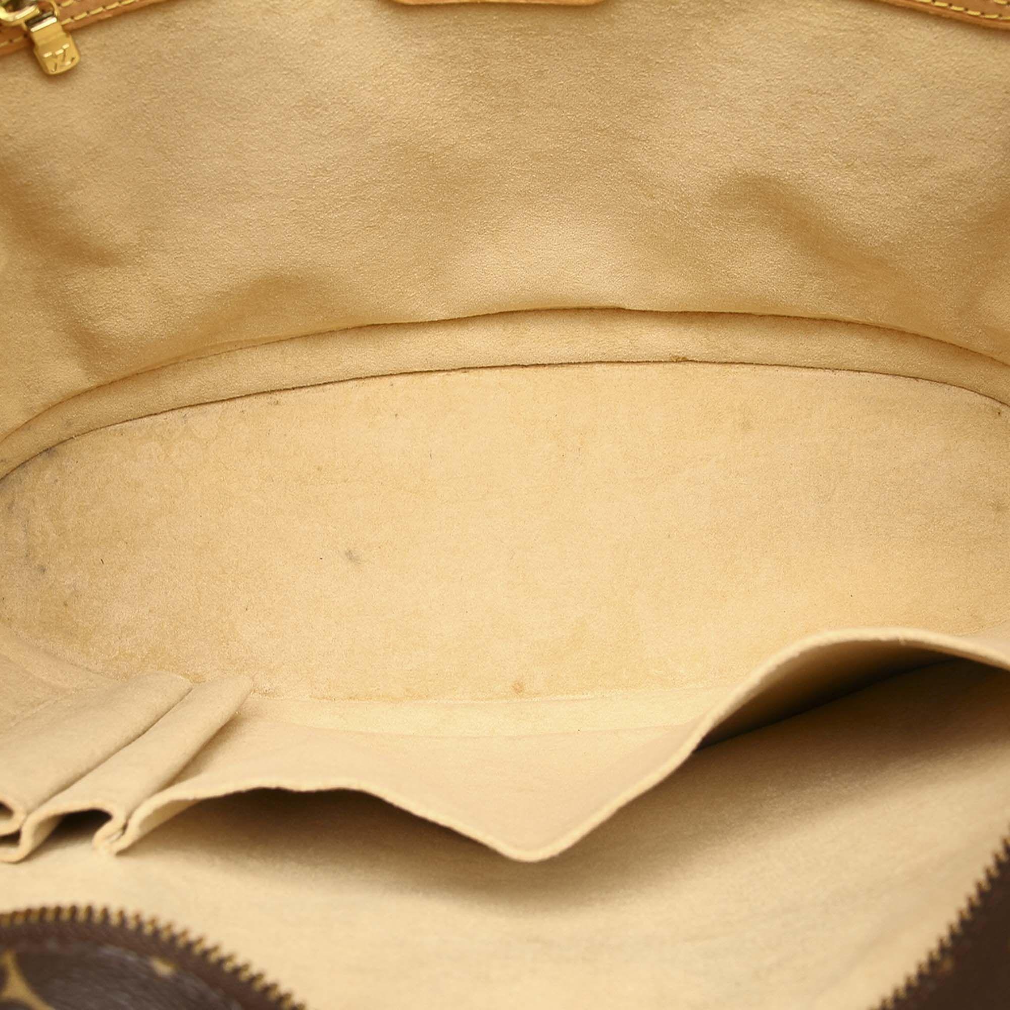 Vintage Louis Vuitton Monogram Babylone Brown