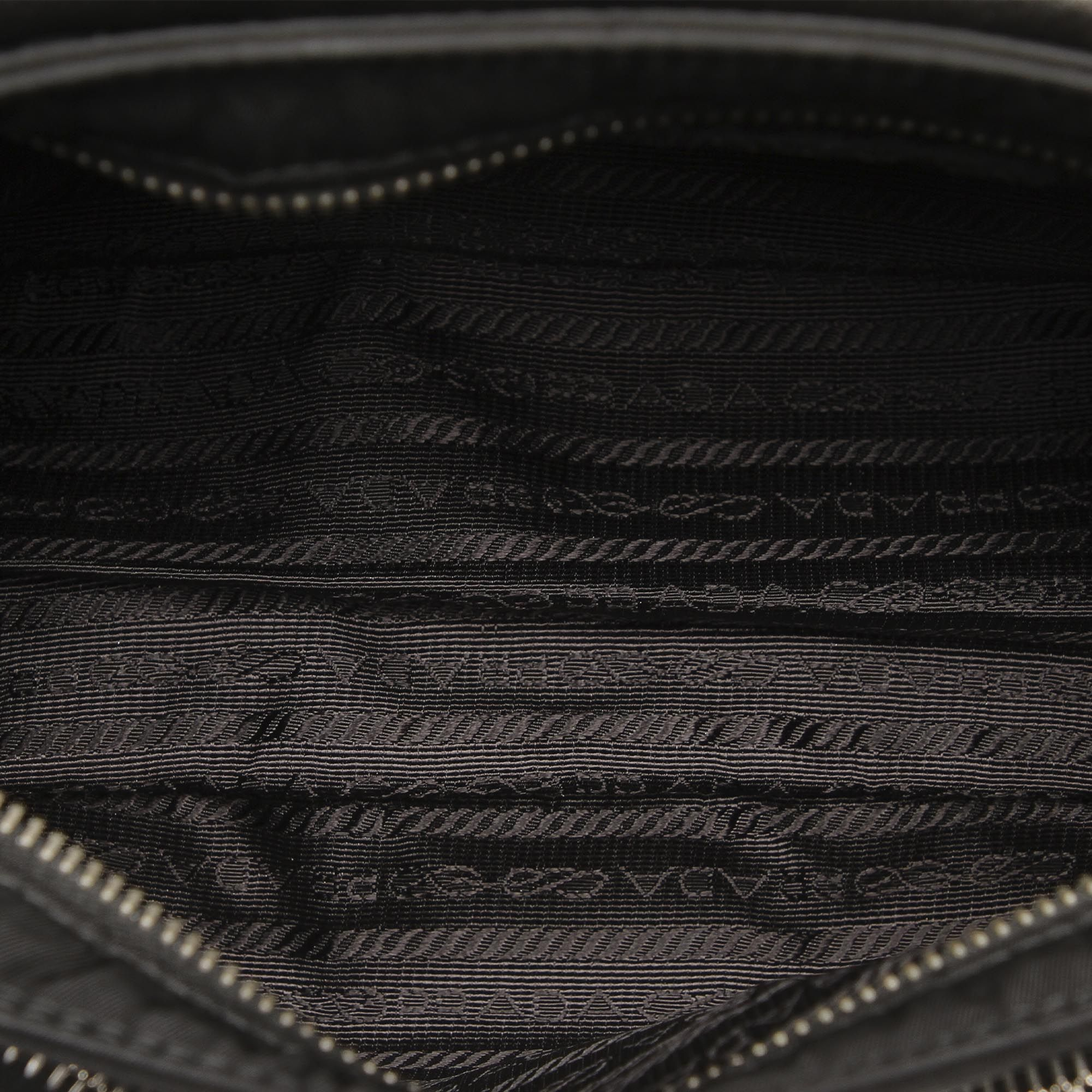 Vintage Prada Tessuto Baguette Black