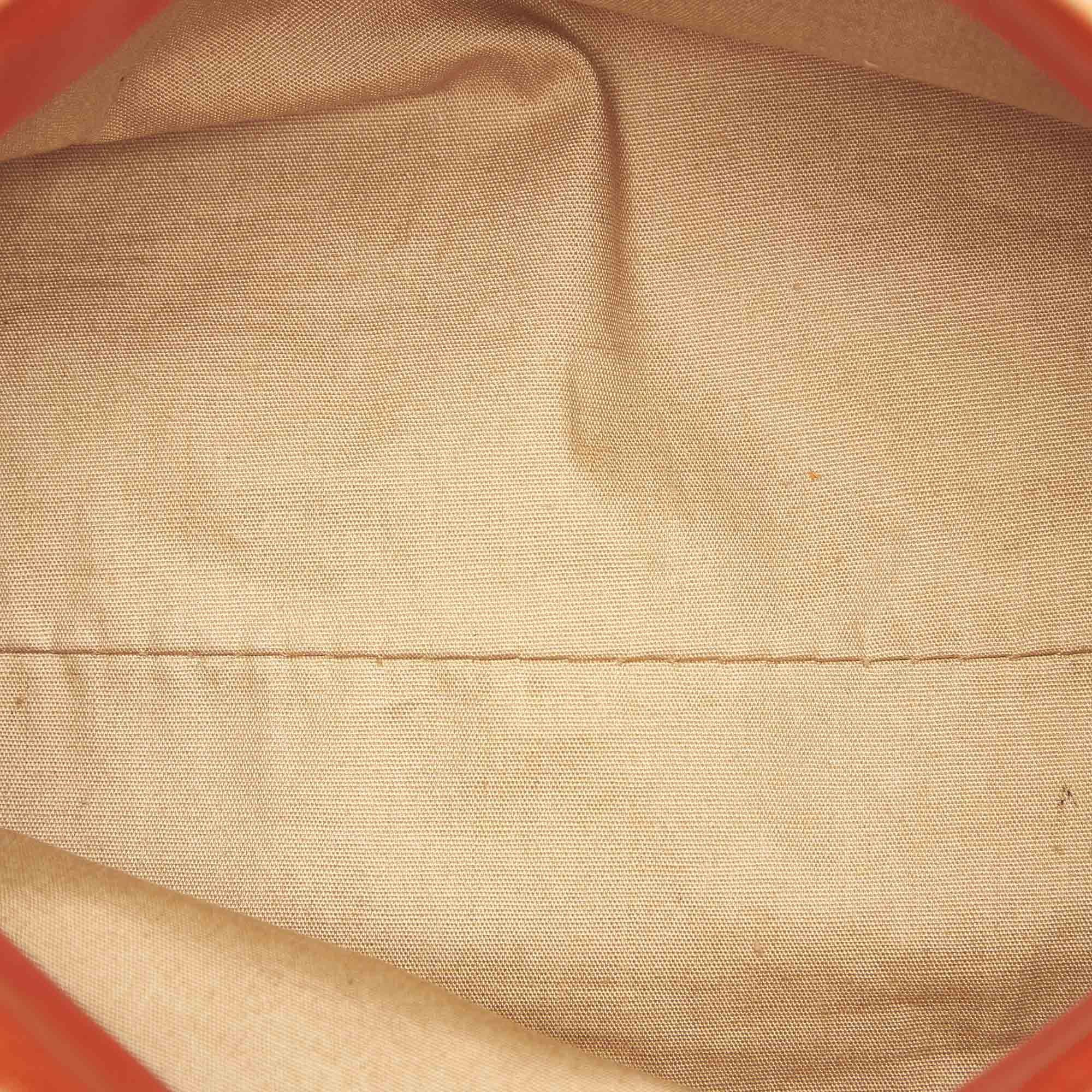 Vintage Bottega Veneta Canvas Baguette Brown