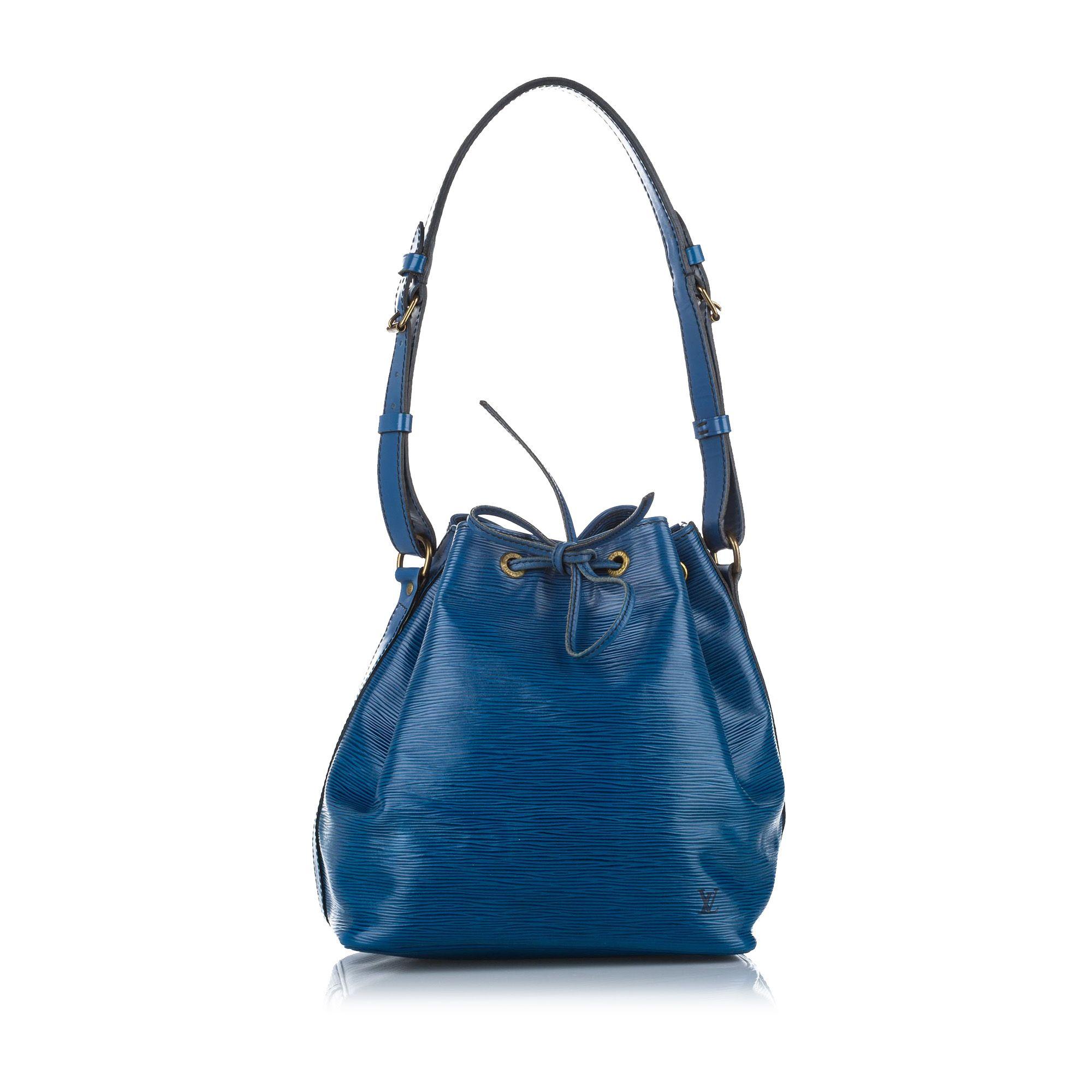 Vintage Louis Vuitton Epi Petit Noe Blue
