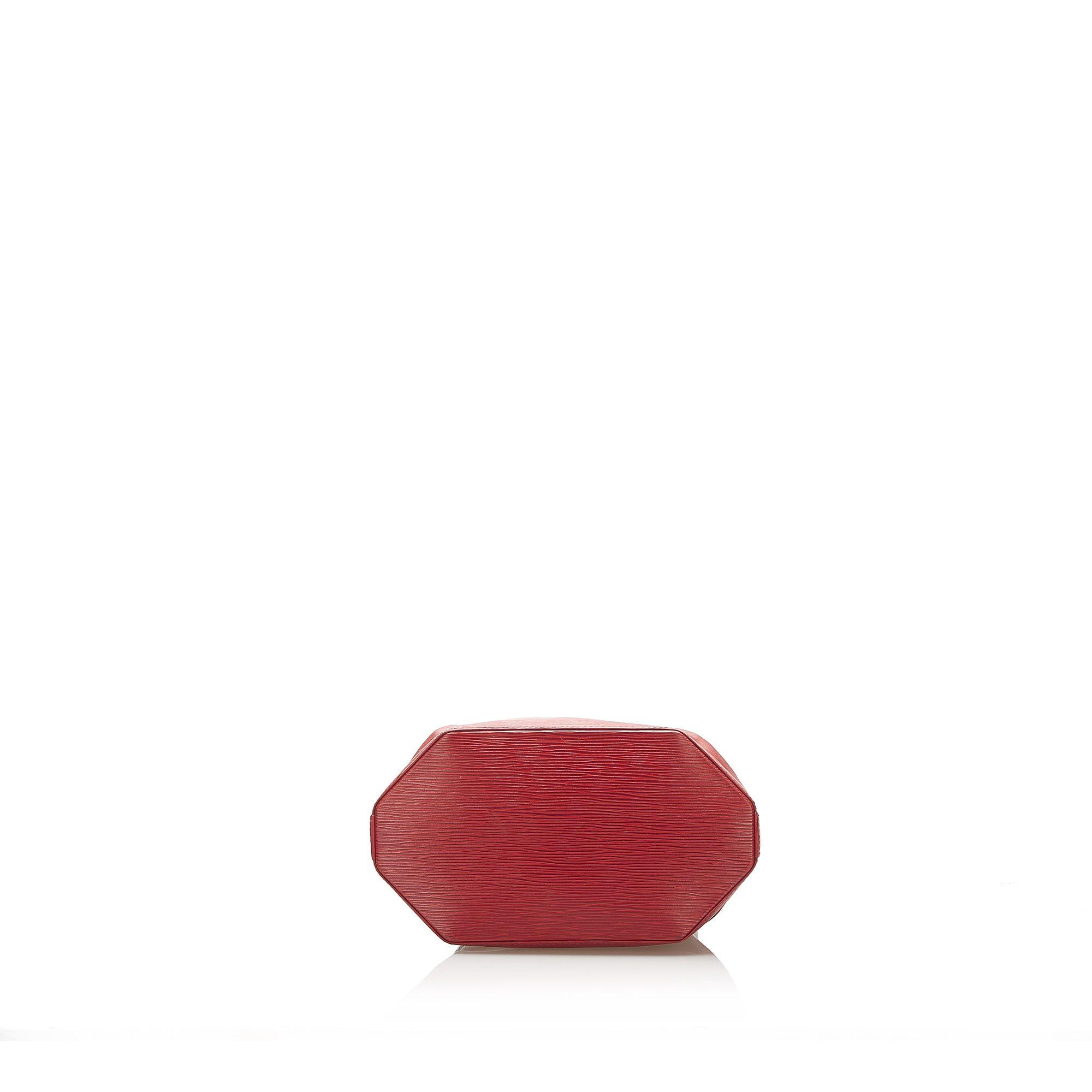 Vintage Louis Vuitton Epi Sac dEpaule Red
