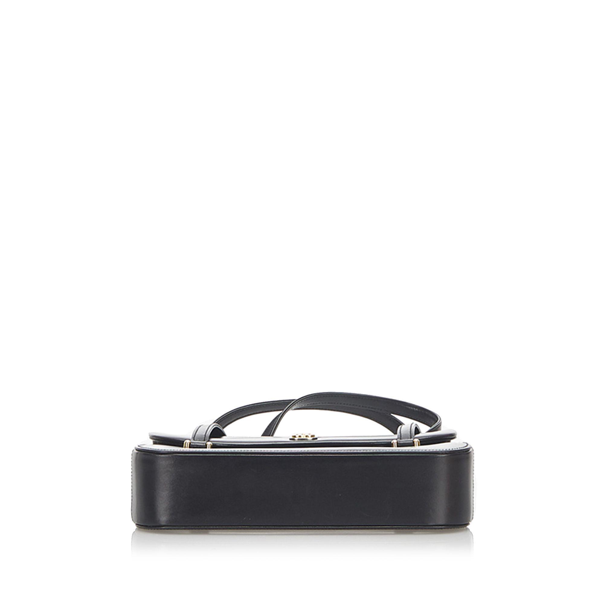 Vintage Gucci Leather Handbag Black
