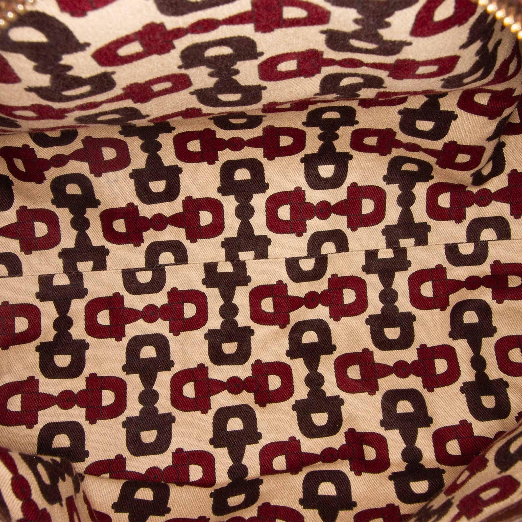 Vintage Gucci Guccissima Joy Boston Bag Brown