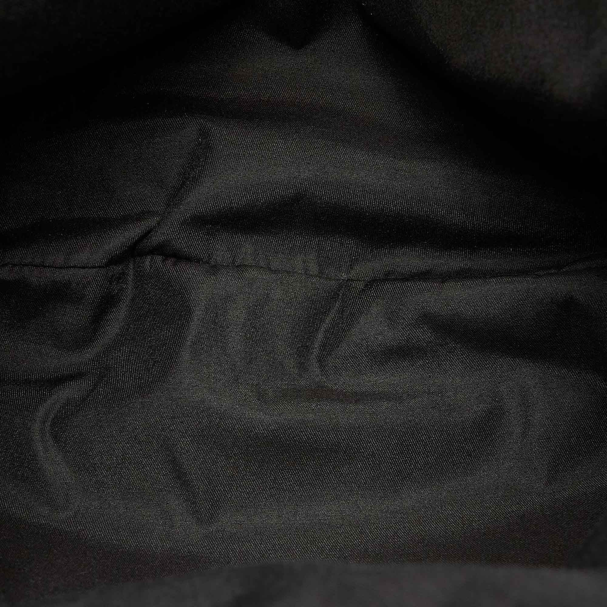Vintage Gucci GG Canvas Abbey Tote Bag Black