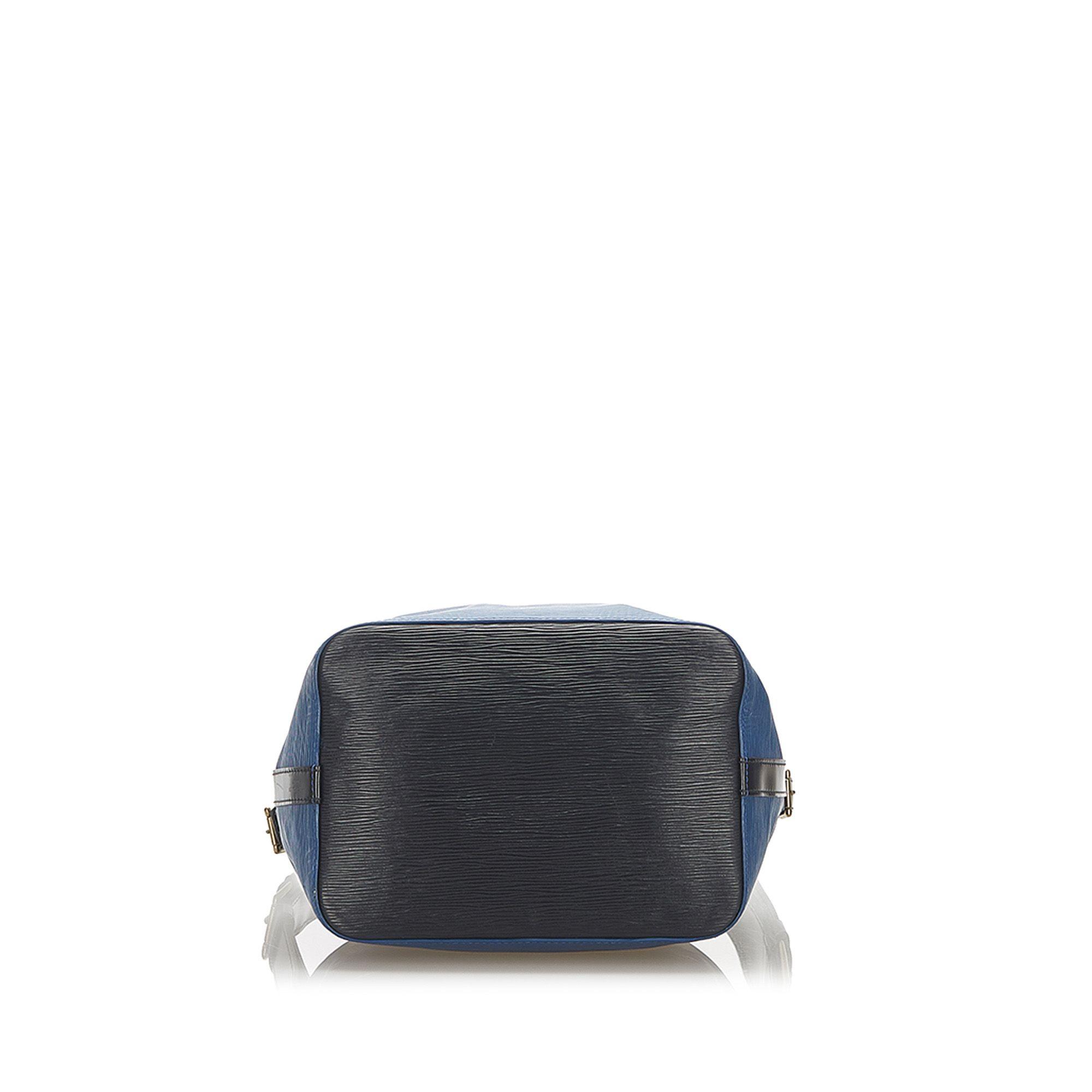 Vintage Louis Vuitton Epi Bicolor Noe Blue
