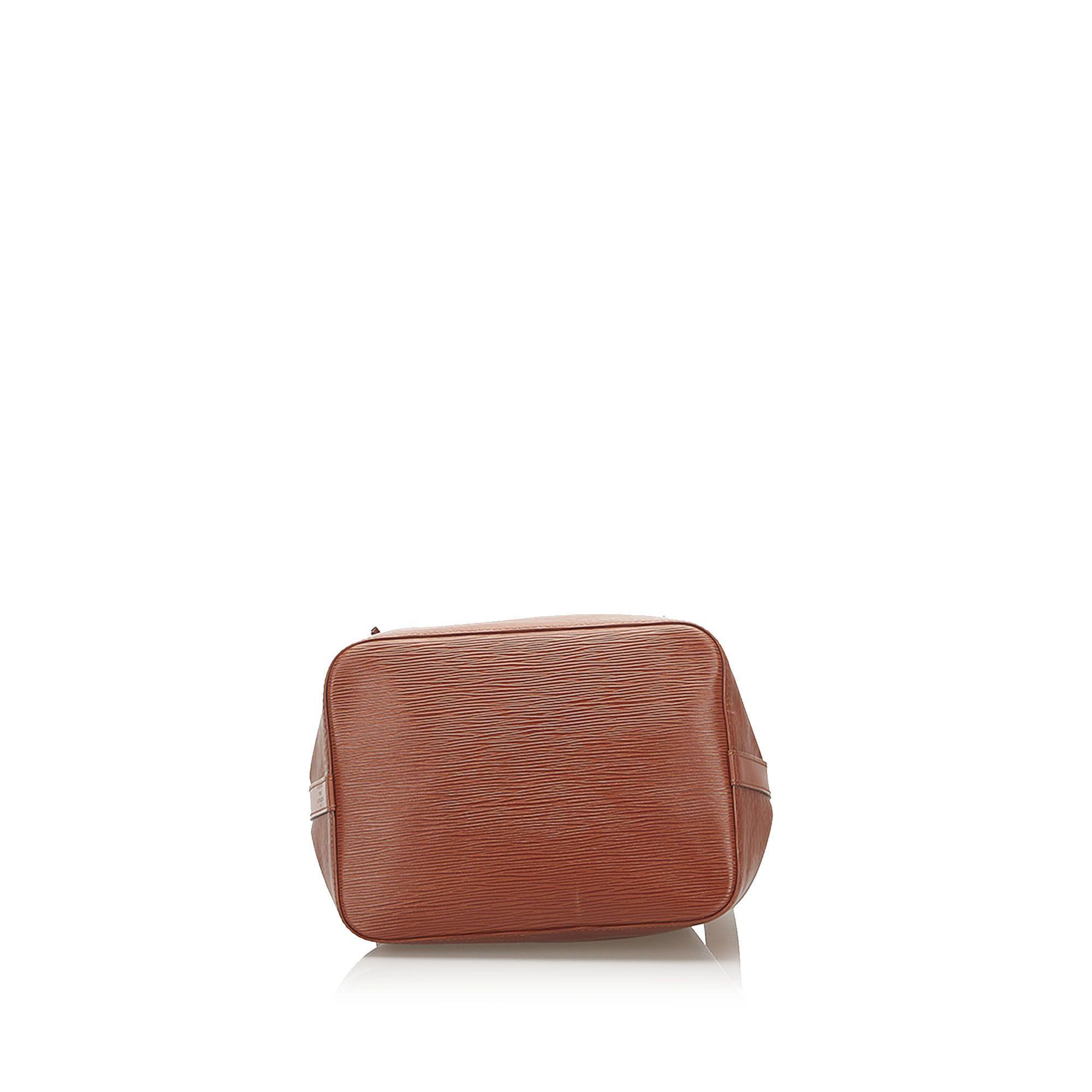 Vintage Louis Vuitton Epi Petit Noe Brown