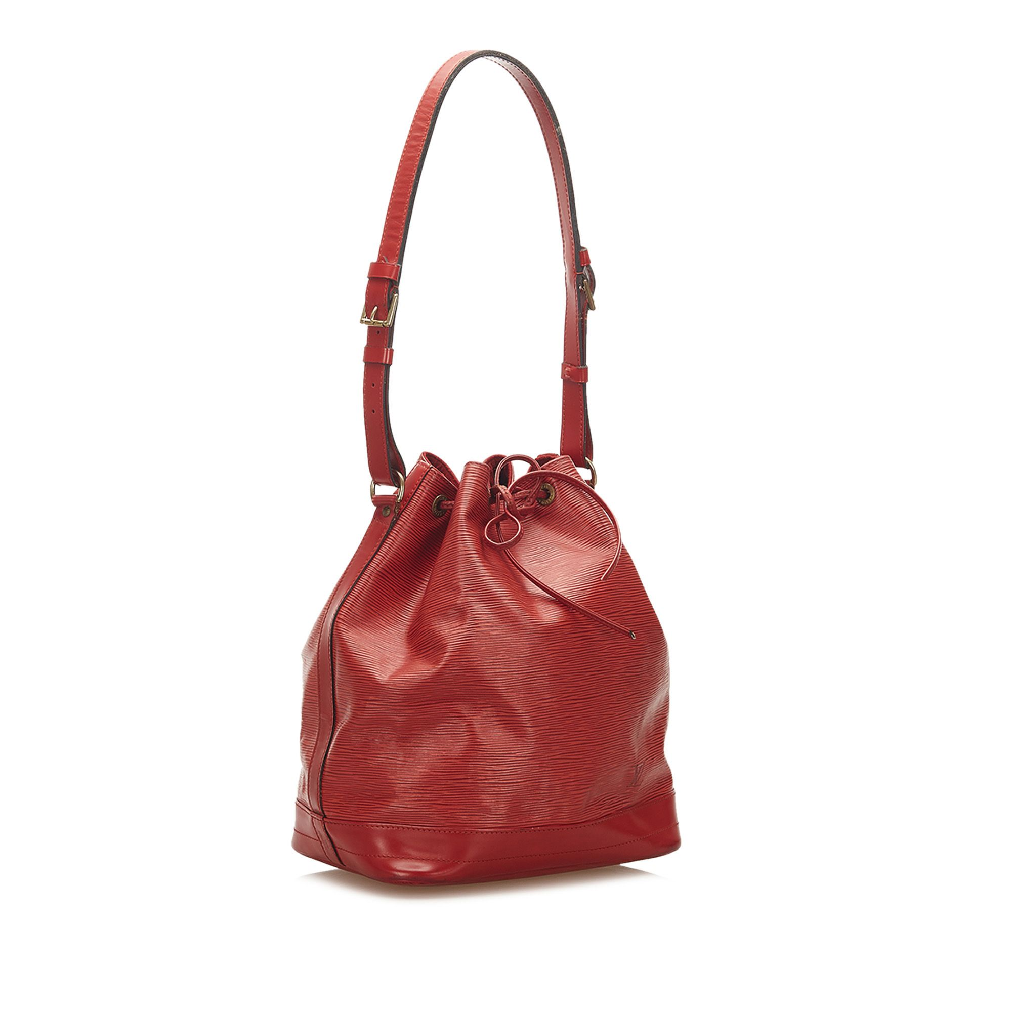 Vintage Louis Vuitton Epi Bicolor Petit Noe Red