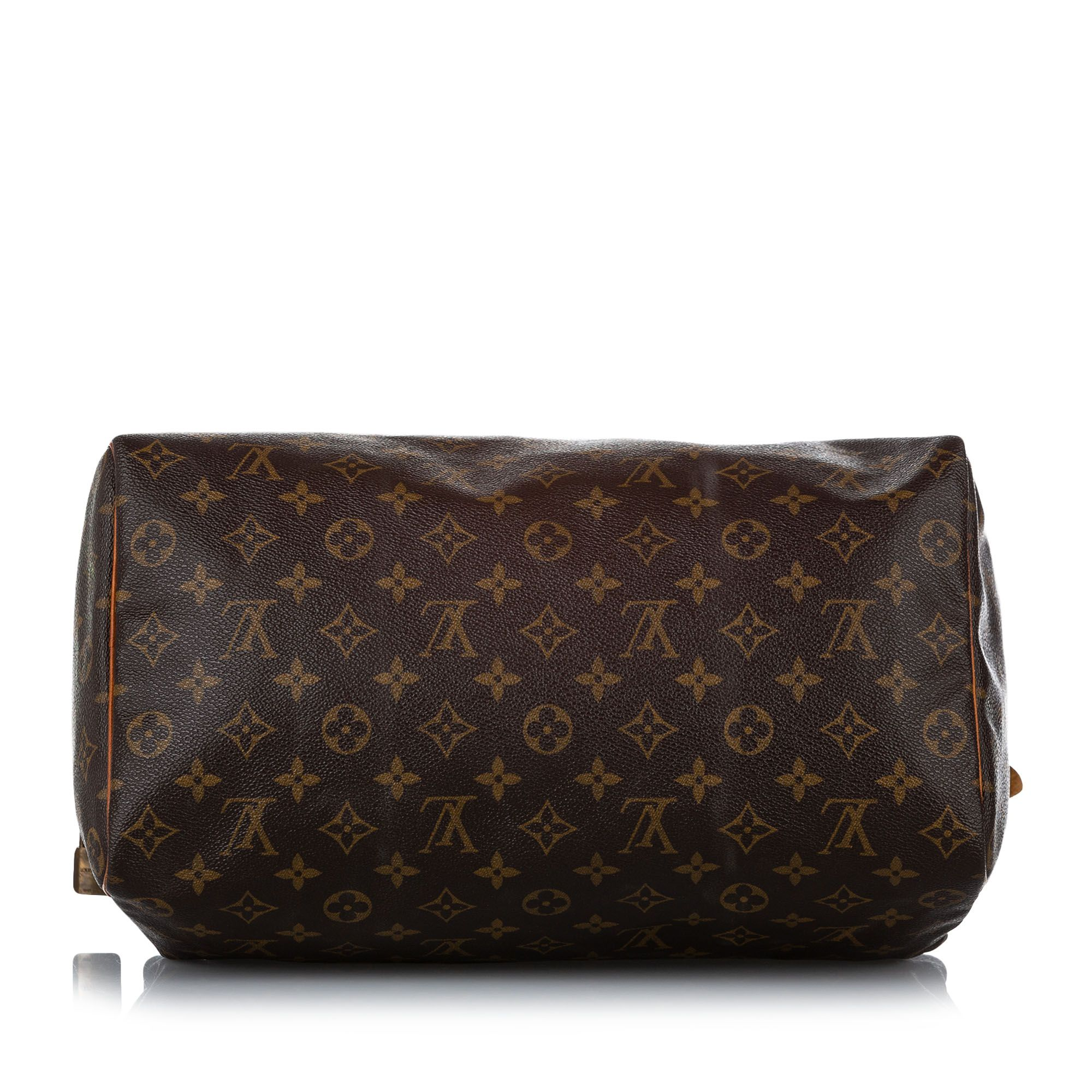 Vintage Louis Vuitton Monogram Speedy 35 Brown