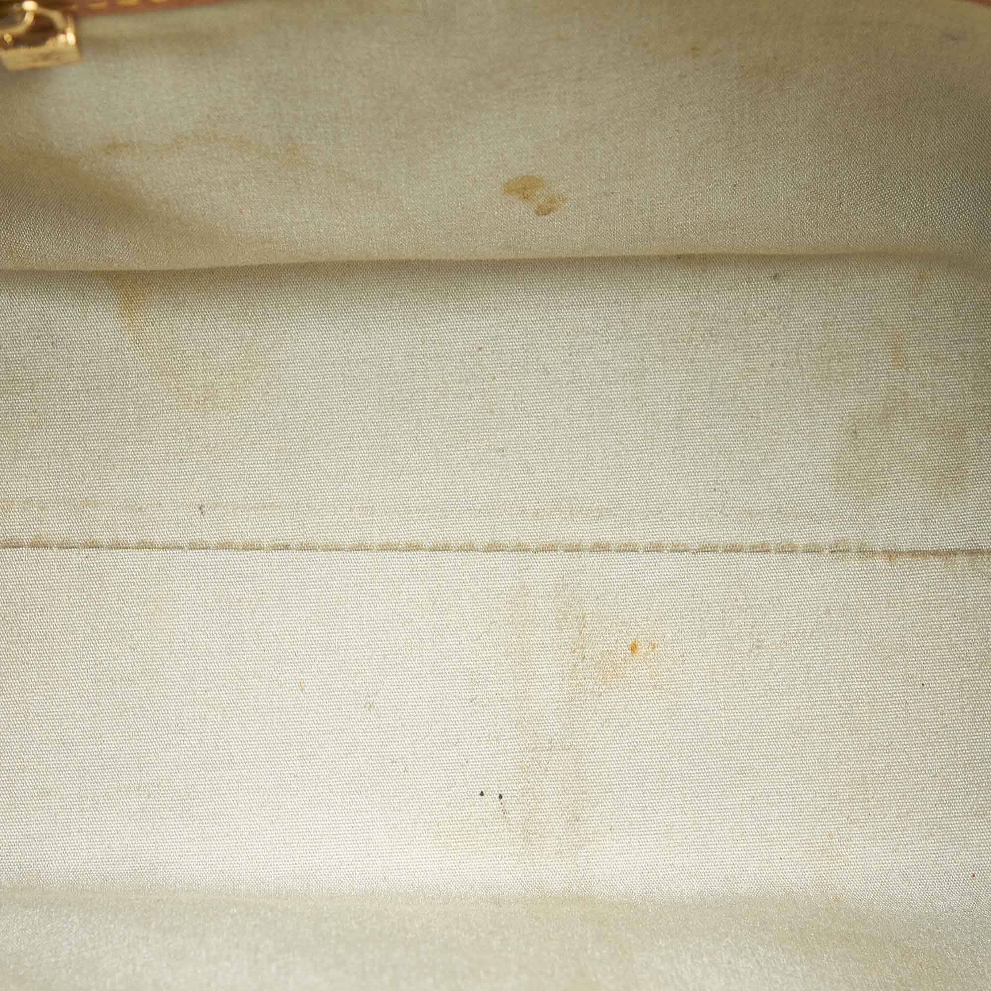 Vintage Louis Vuitton Vernis Reade PM White
