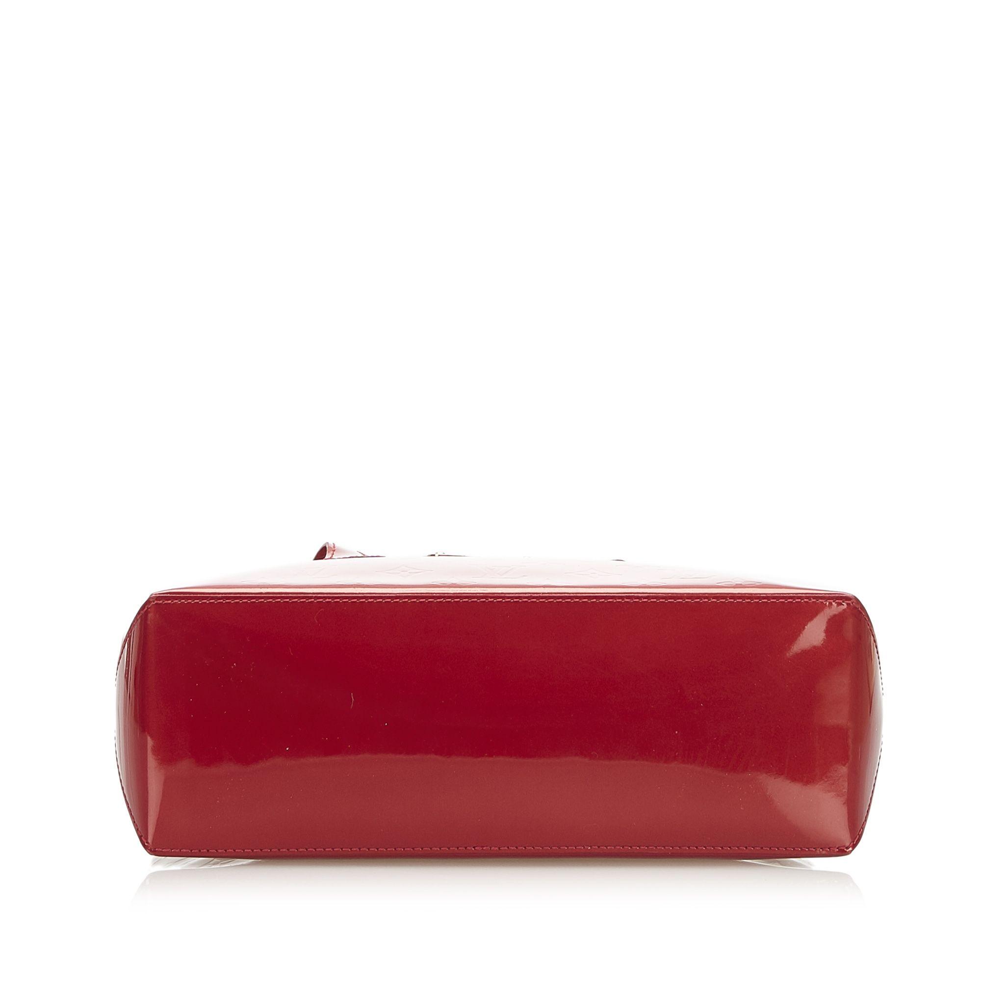 Vintage Louis Vuitton Vernis Wilshire PM Red