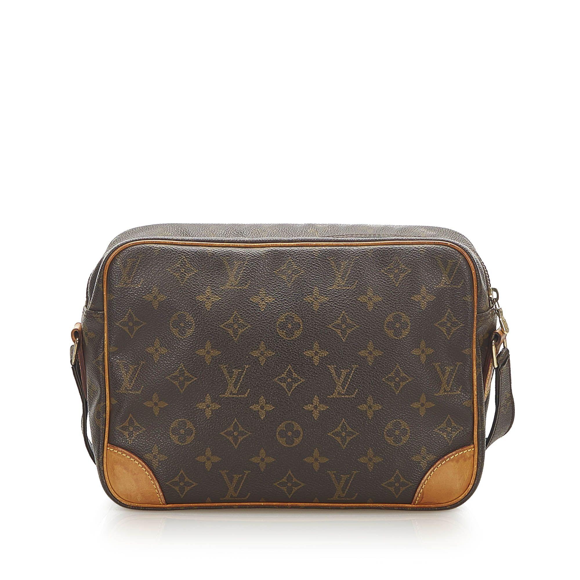 Vintage Louis Vuitton Monogram Nile Brown
