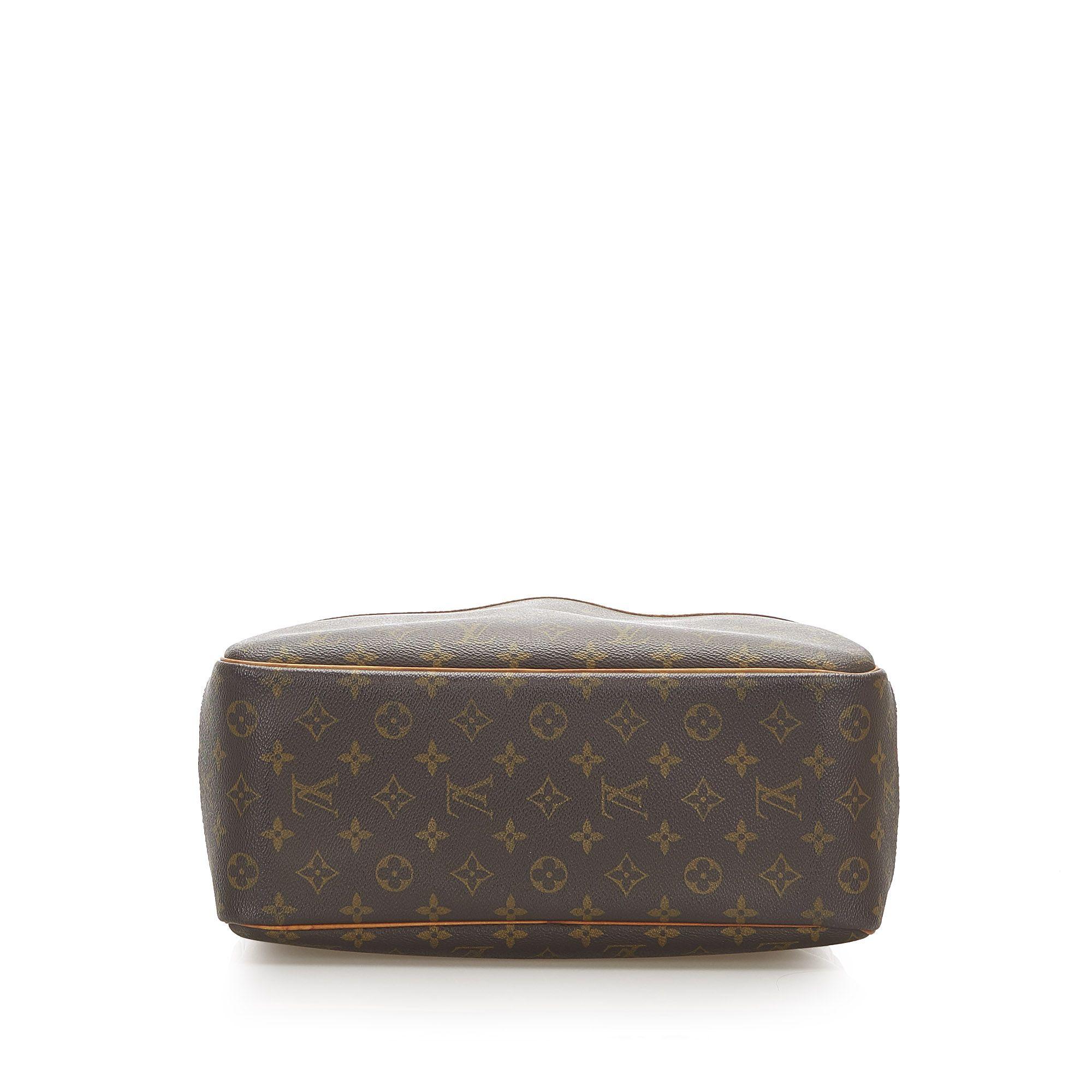 Vintage Louis Vuitton Monogram Deauville Brown