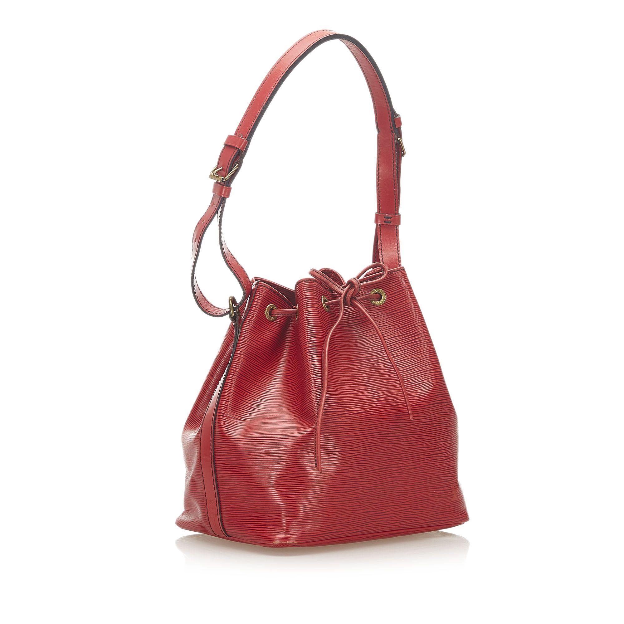 Vintage Louis Vuitton Epi Petit Noe Red