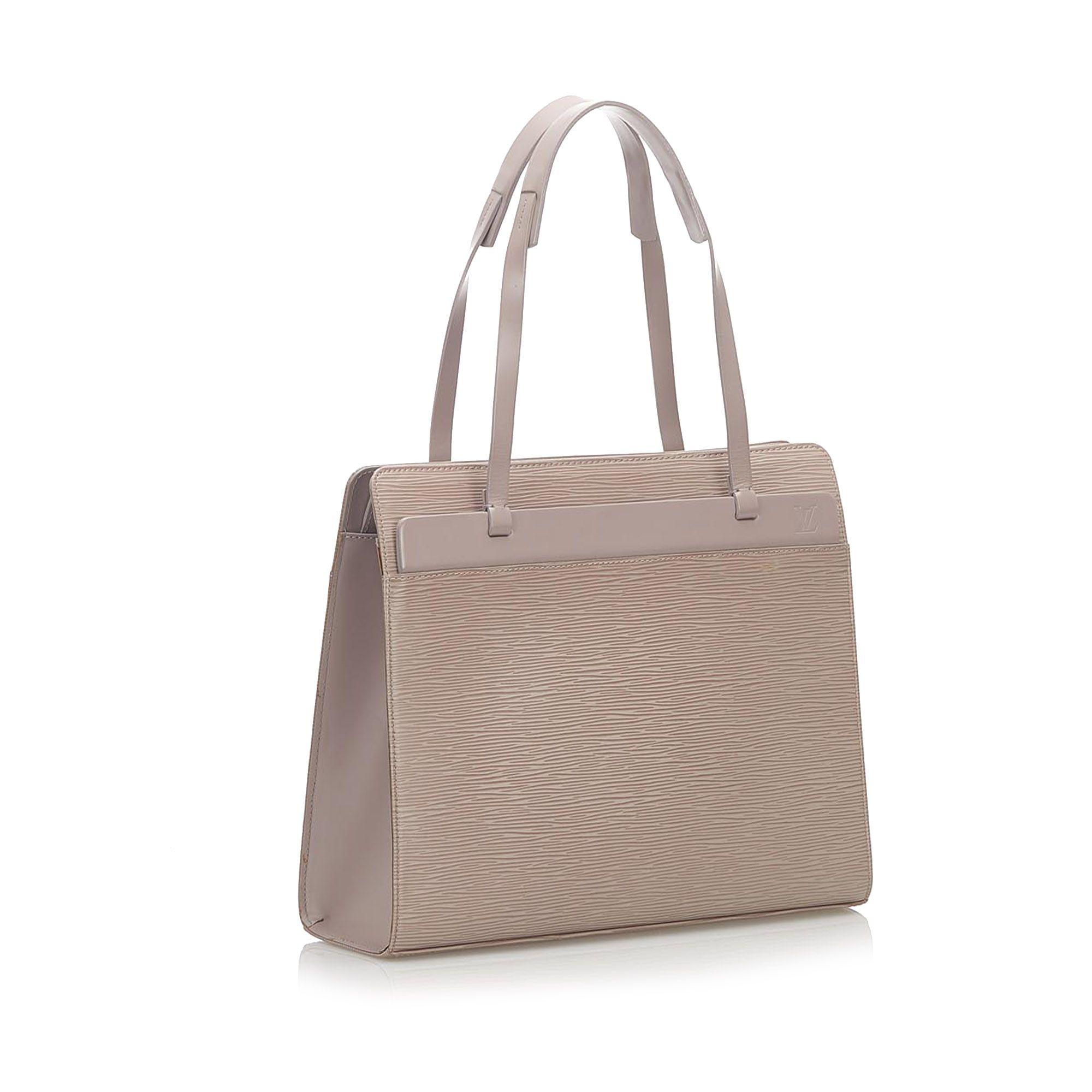 Vintage Louis Vuitton Epi Croisette PM Gray