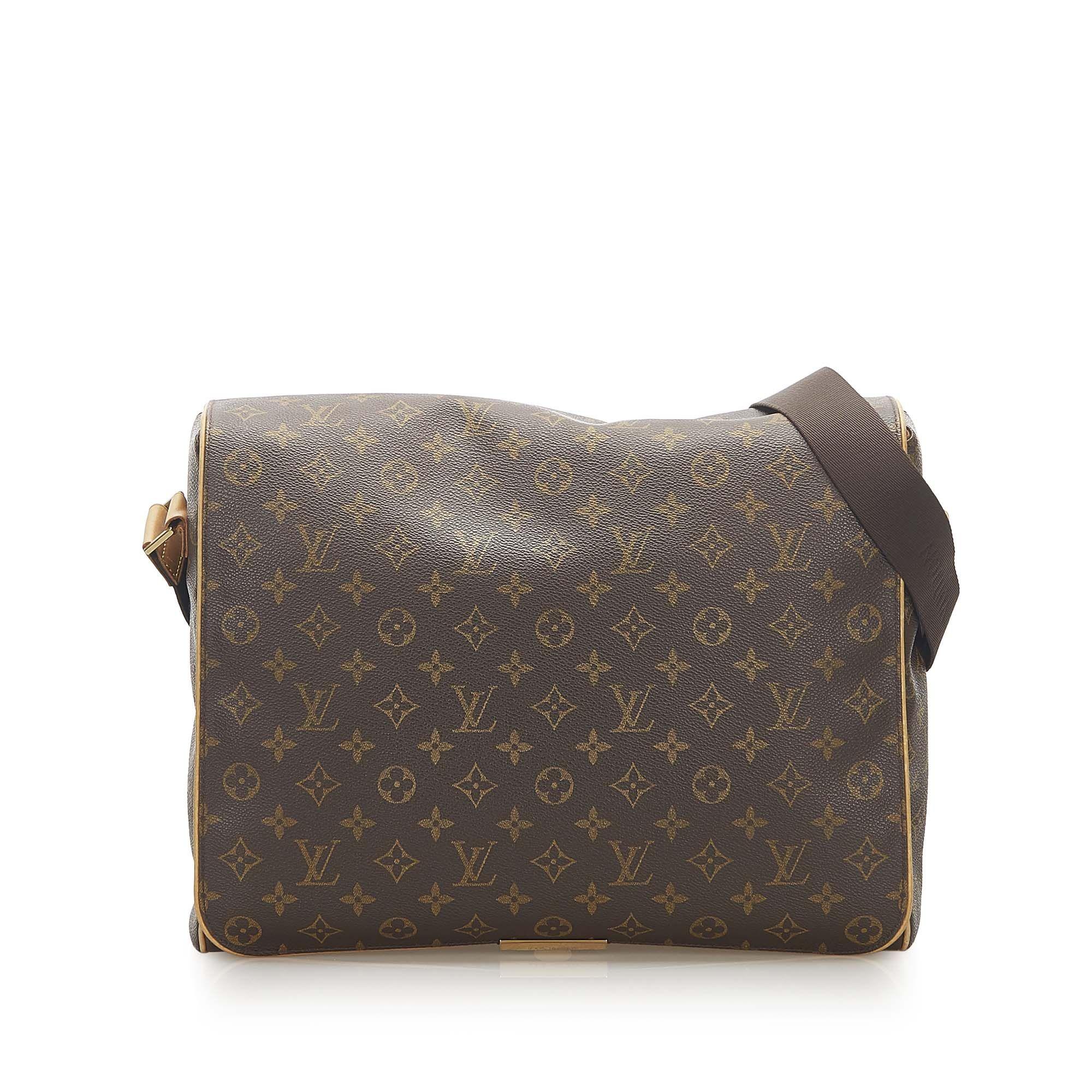 Vintage Louis Vuitton Monogram Abbesses Brown