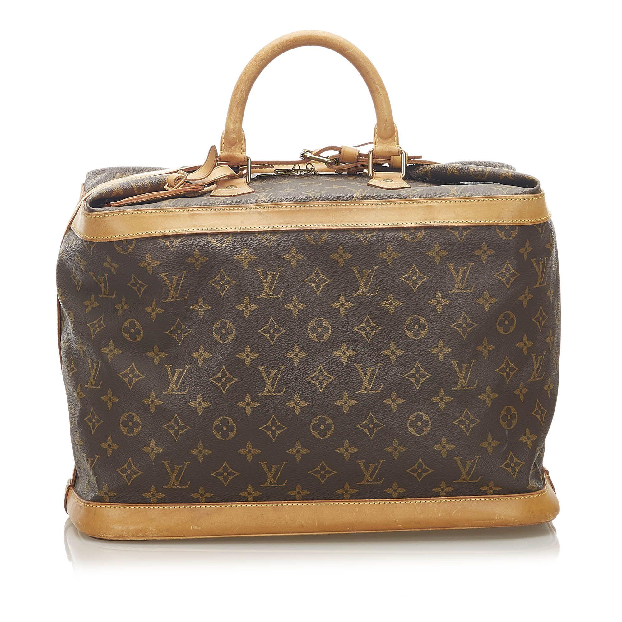 Vintage Louis Vuitton Monogram Cruiser 55 Brown