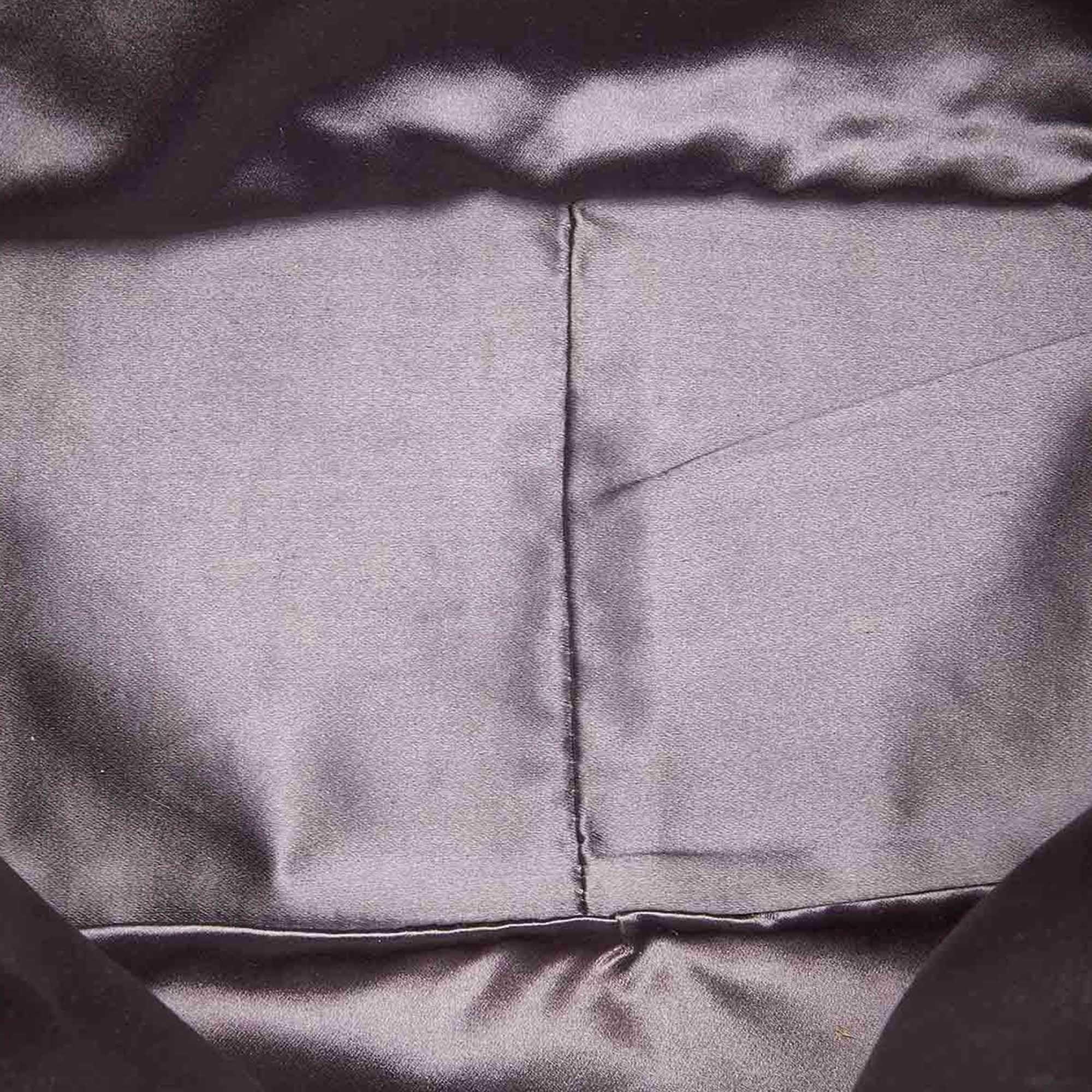 Vintage Prada Canvas Handbag Brown