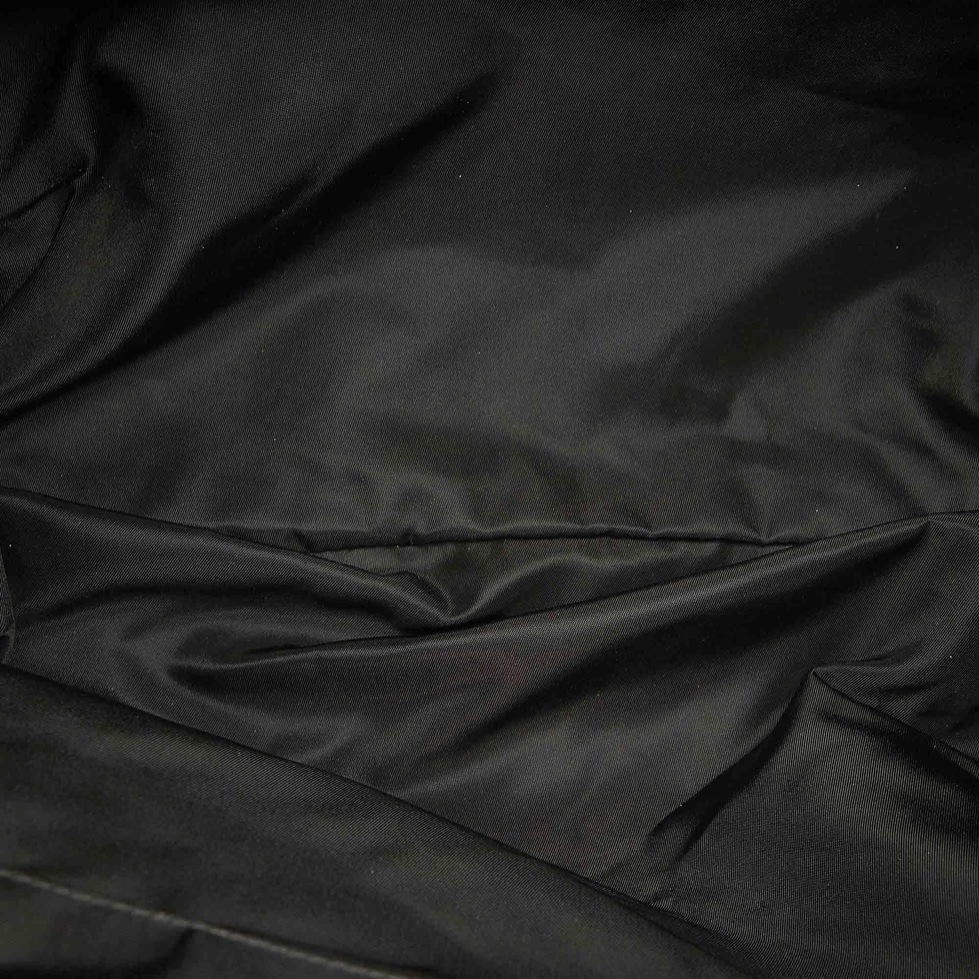 Vintage Prada Tessuto Satchel Black