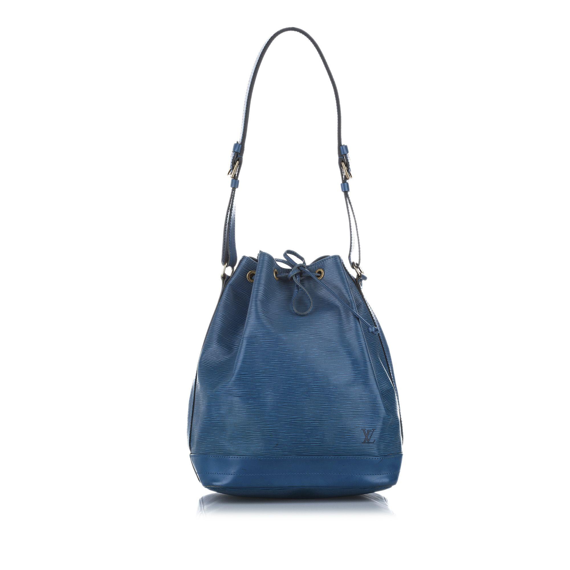 Vintage Louis Vuitton Epi Noe Blue