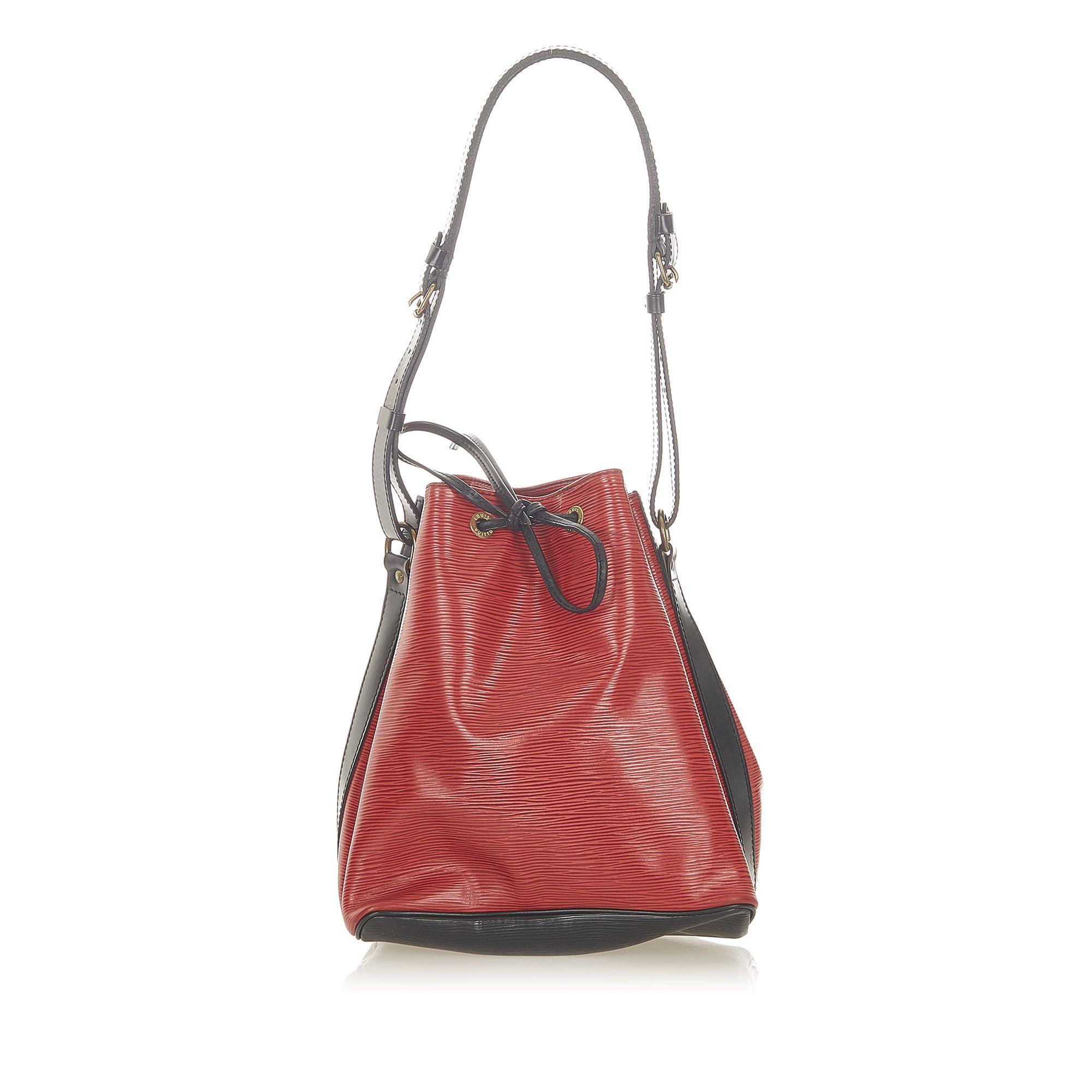 Vintage Louis Vuitton Epi Neonoe Red