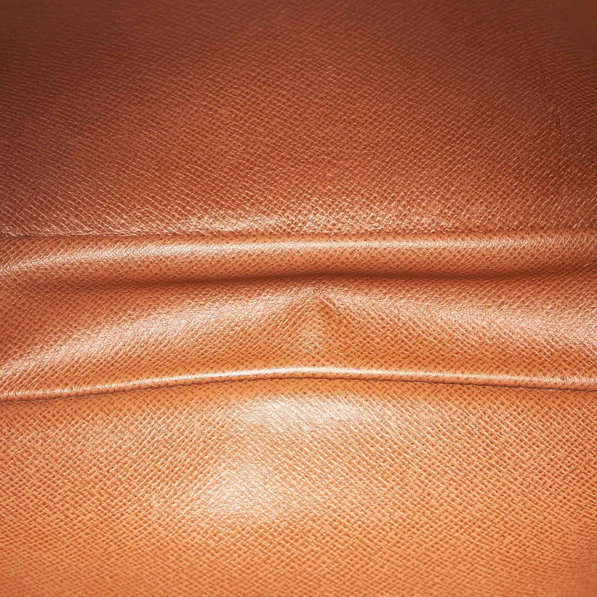 Vintage Louis Vuitton Monogram Marly Bandouliere Brown