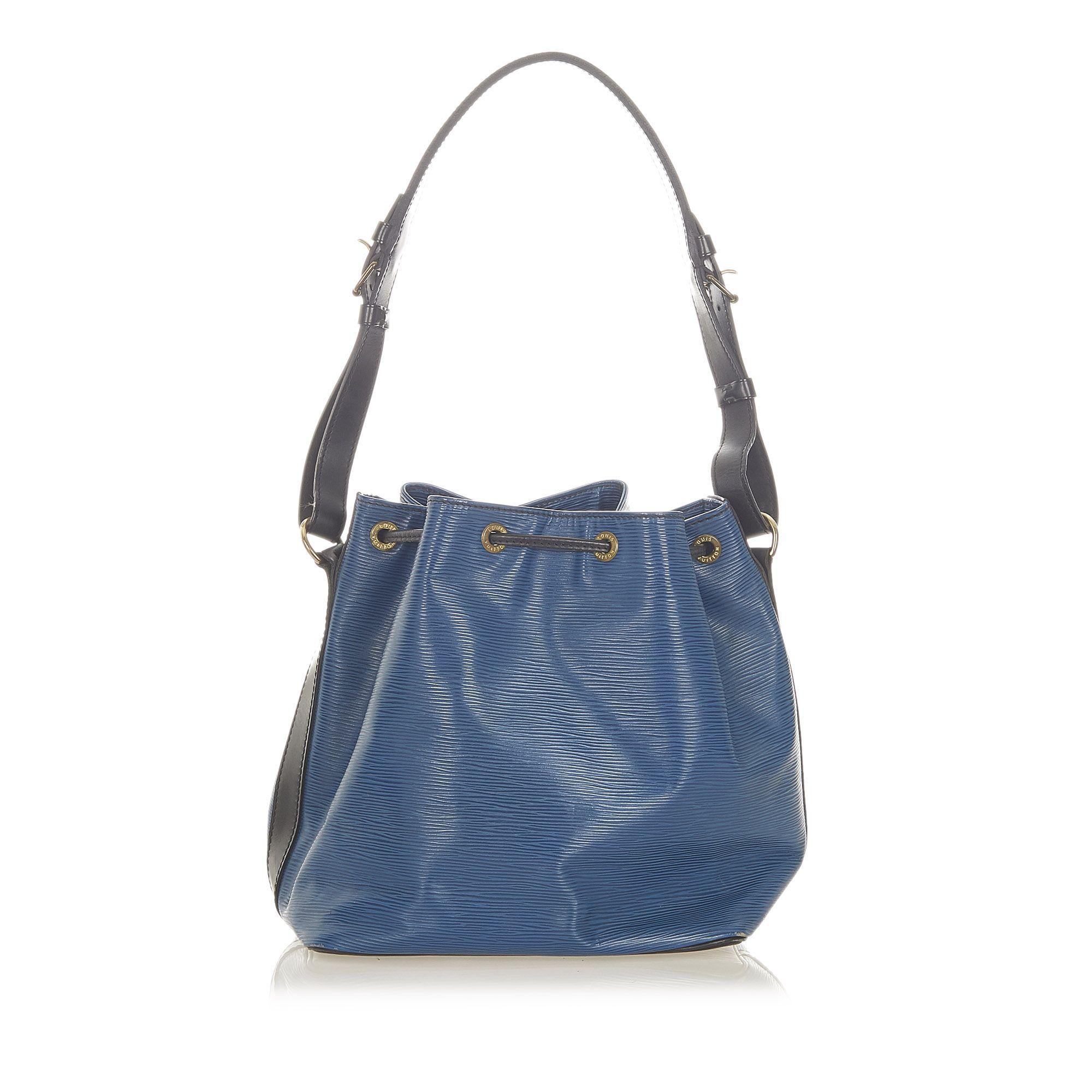 Vintage Louis Vuitton Epi Bicolor Petit Noe Blue