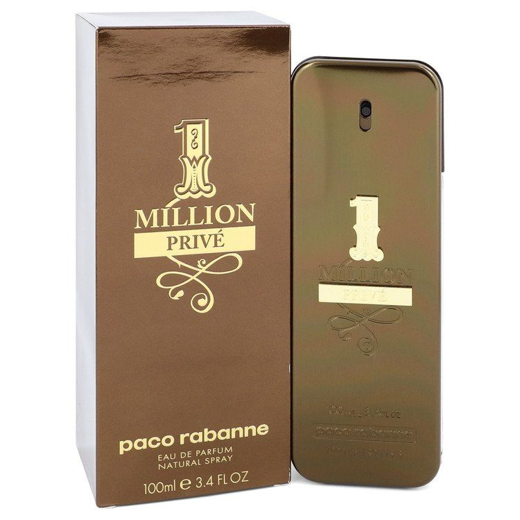 1 Million Prive Eau De Parfum Spray By Paco Rabanne 100 ml