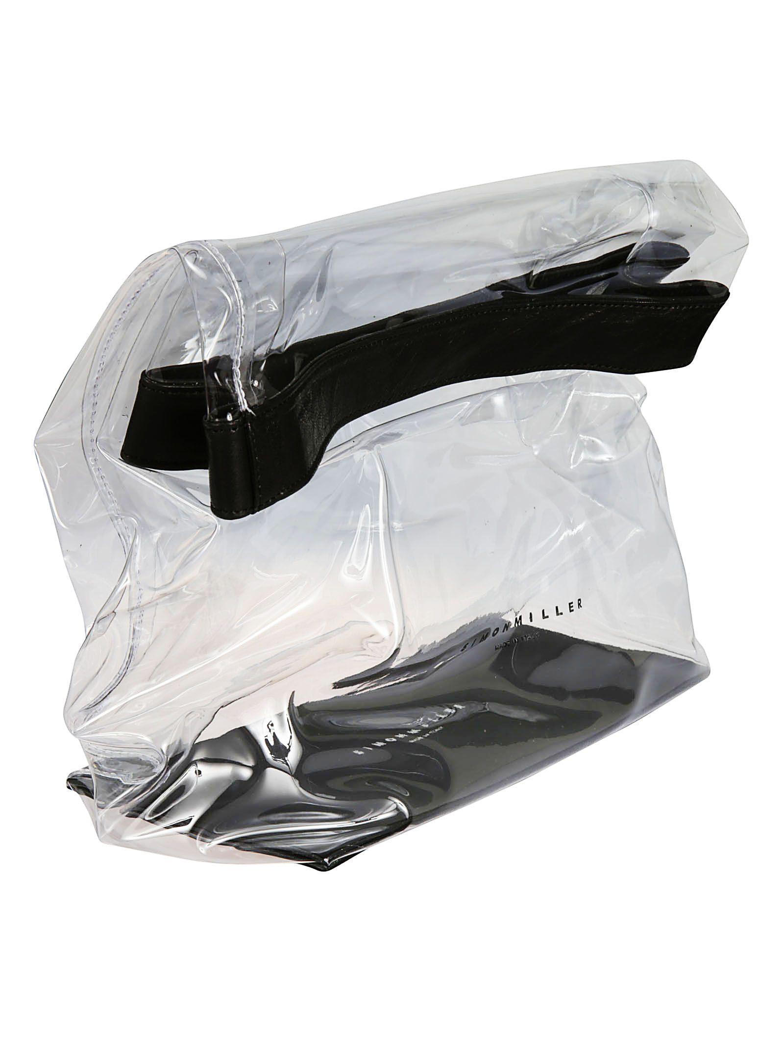 SIMON MILLER WOMEN'S S810901110027 WHITE PVC POUCH
