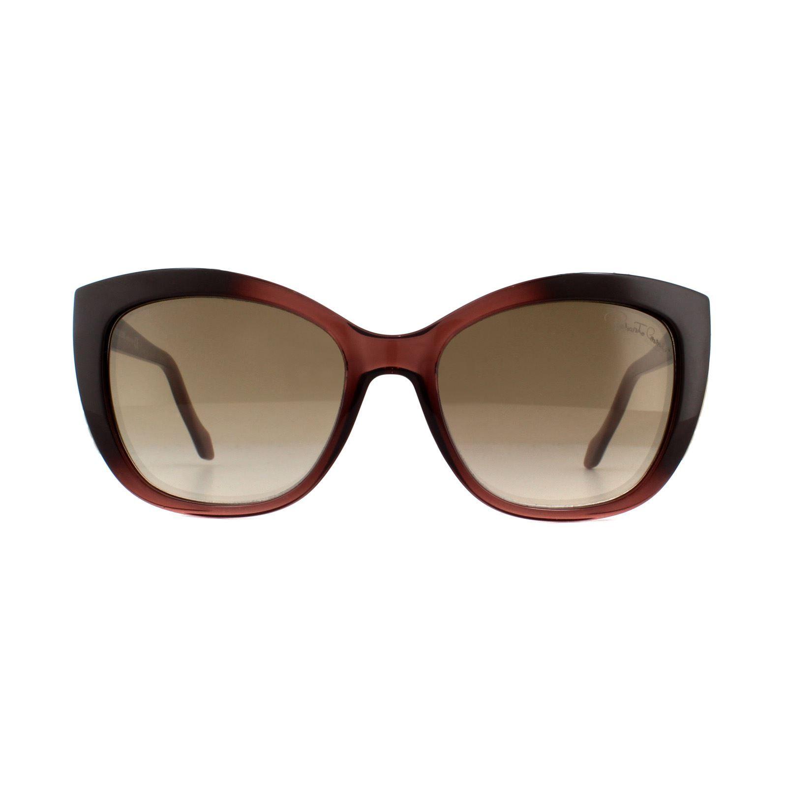 Roberto Cavalli Sunglasses Mekbuda RC888S 83G Violet Brown Mirror
