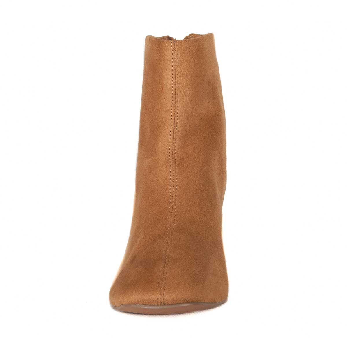 Montevita Heeled Ankle Boot in Camel