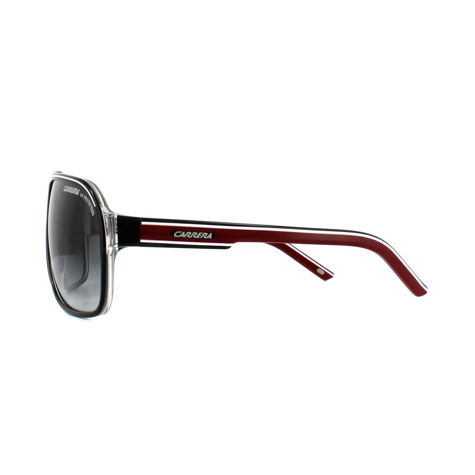 Carrera Sunglasses Grand Prix 2 T4O 9O Black Dark Grey Gradient