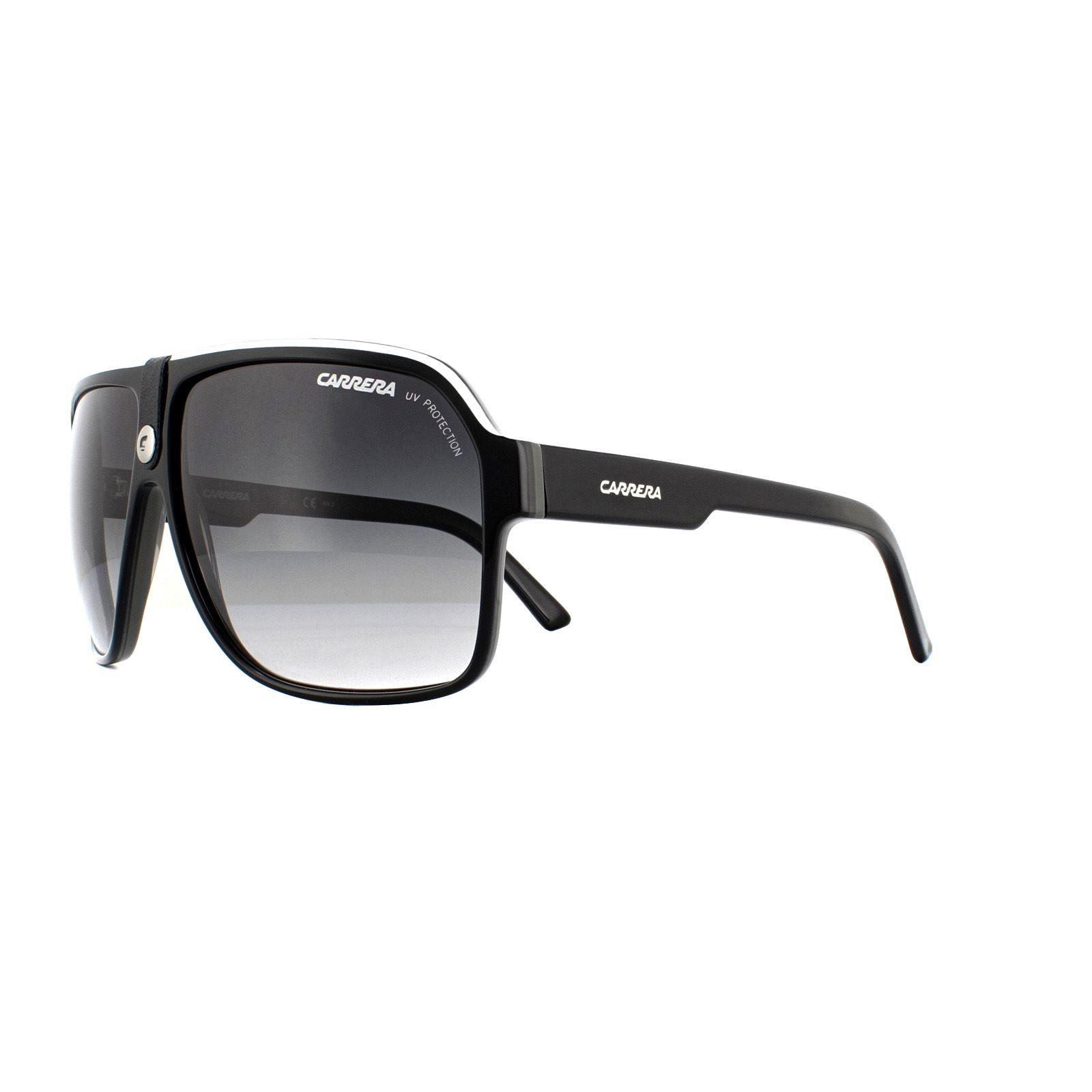 Carrera Sunglasses Carrera 33 8V6 9O Black and White Grey Gradient