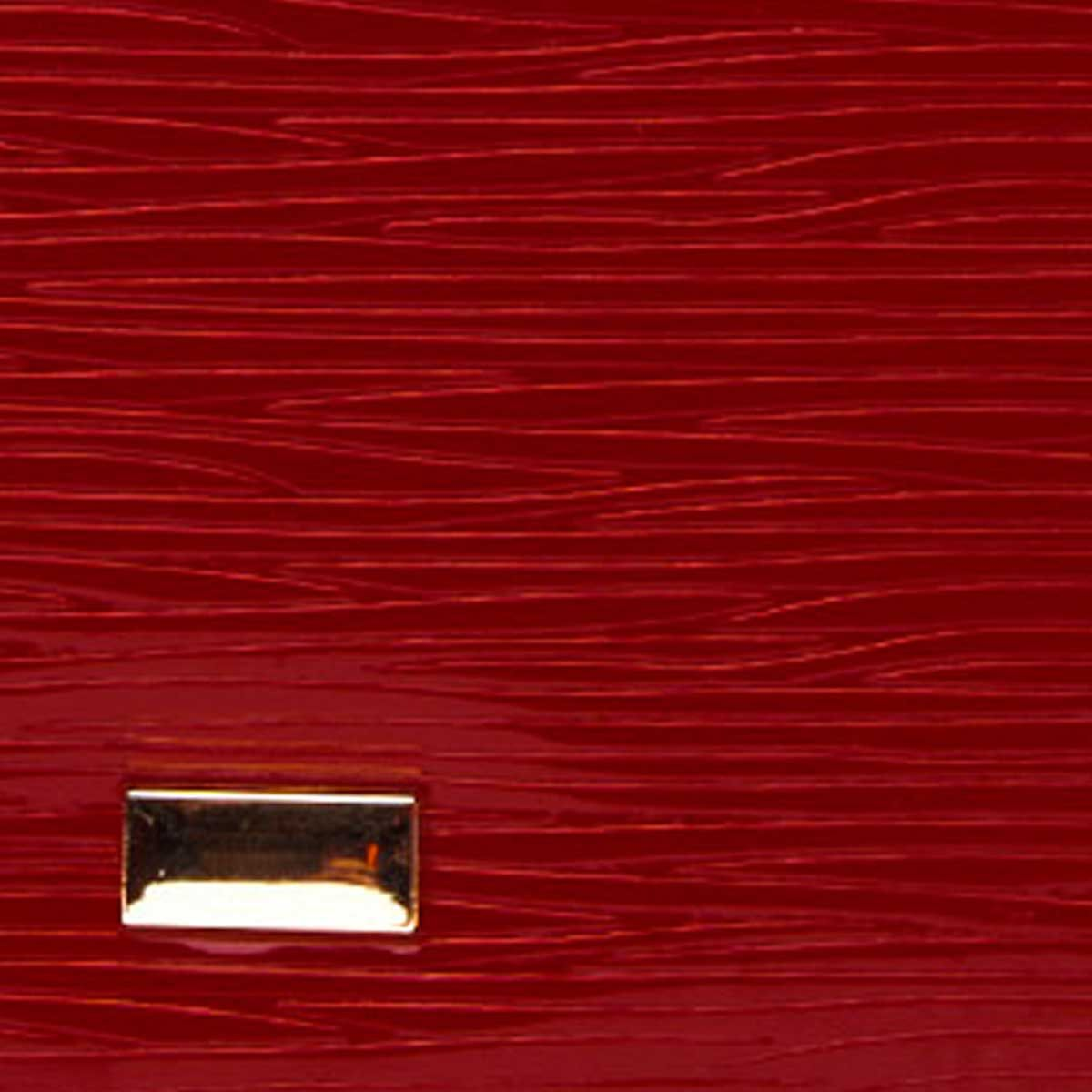 Montevita Leather Purse in Red