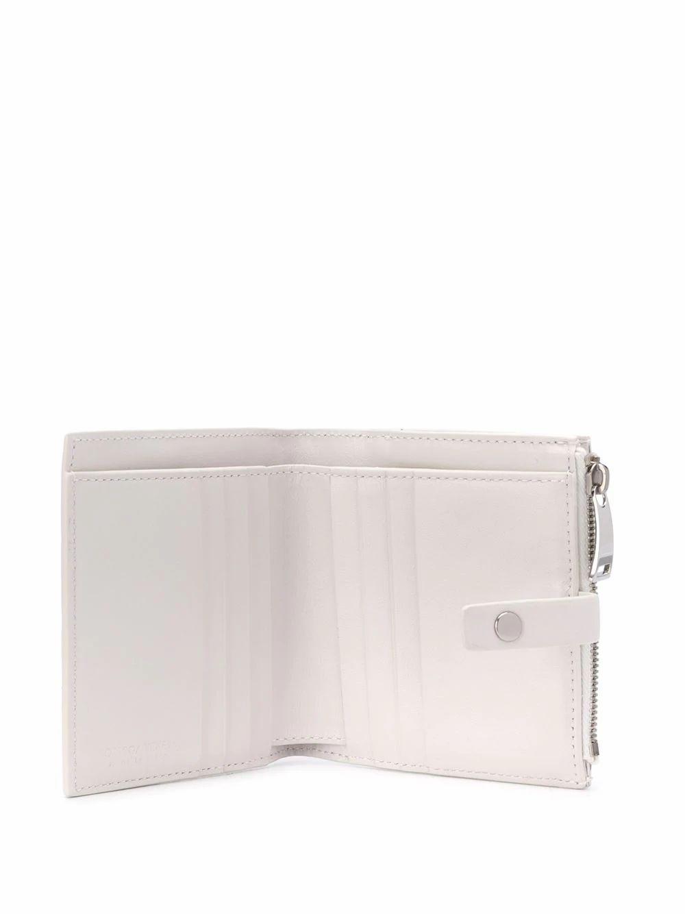 BOTTEGA VENETA WOMEN'S 600270VCPP39005 WHITE LEATHER WALLET