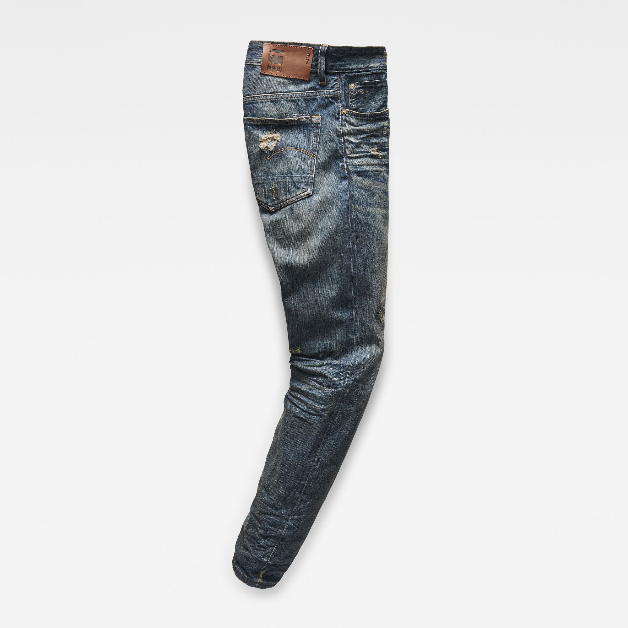 G-Star RAW 3301 Red Listing Tapered Jeans