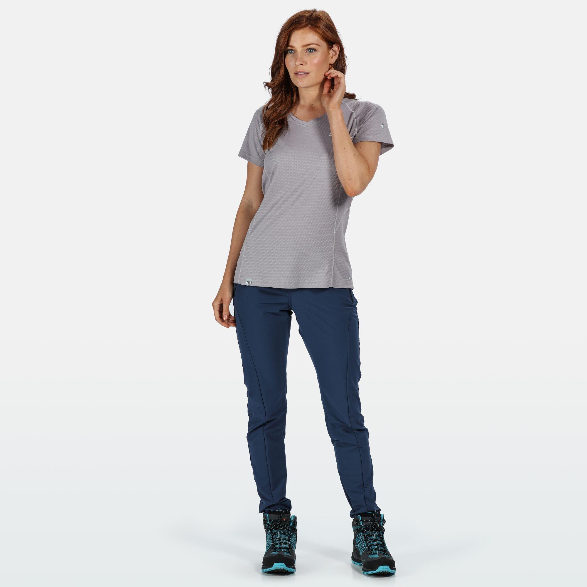 Regatta Womens/Ladies Pentre Kimberley Walsh Stretch Walking Trousers (Dark Denim)