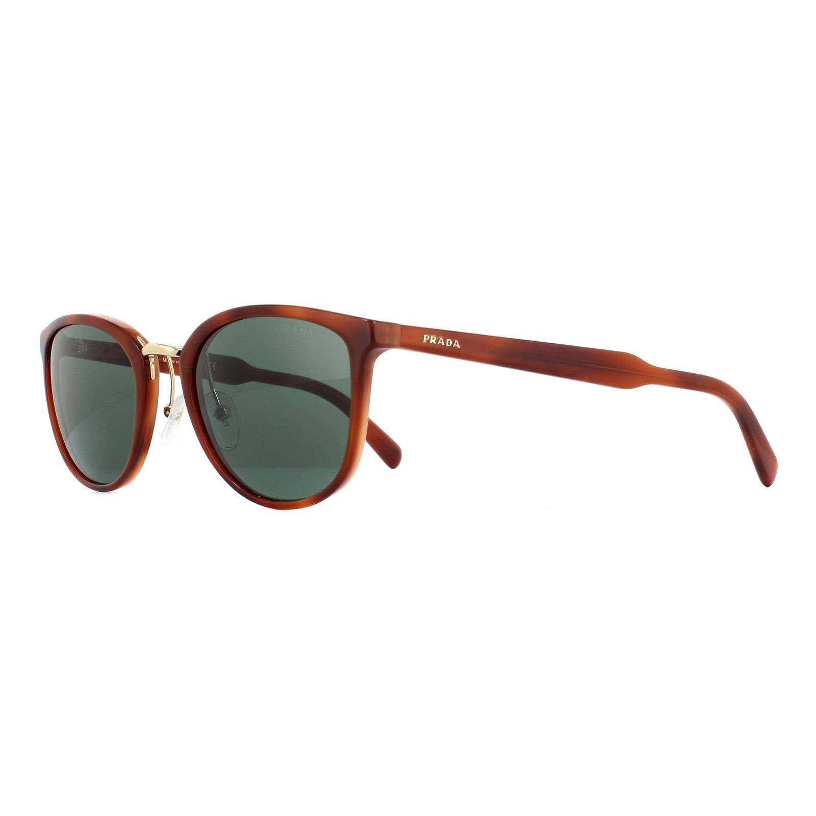Prada Sunglasses 22SS USE3O1 Striped Light Brown Green