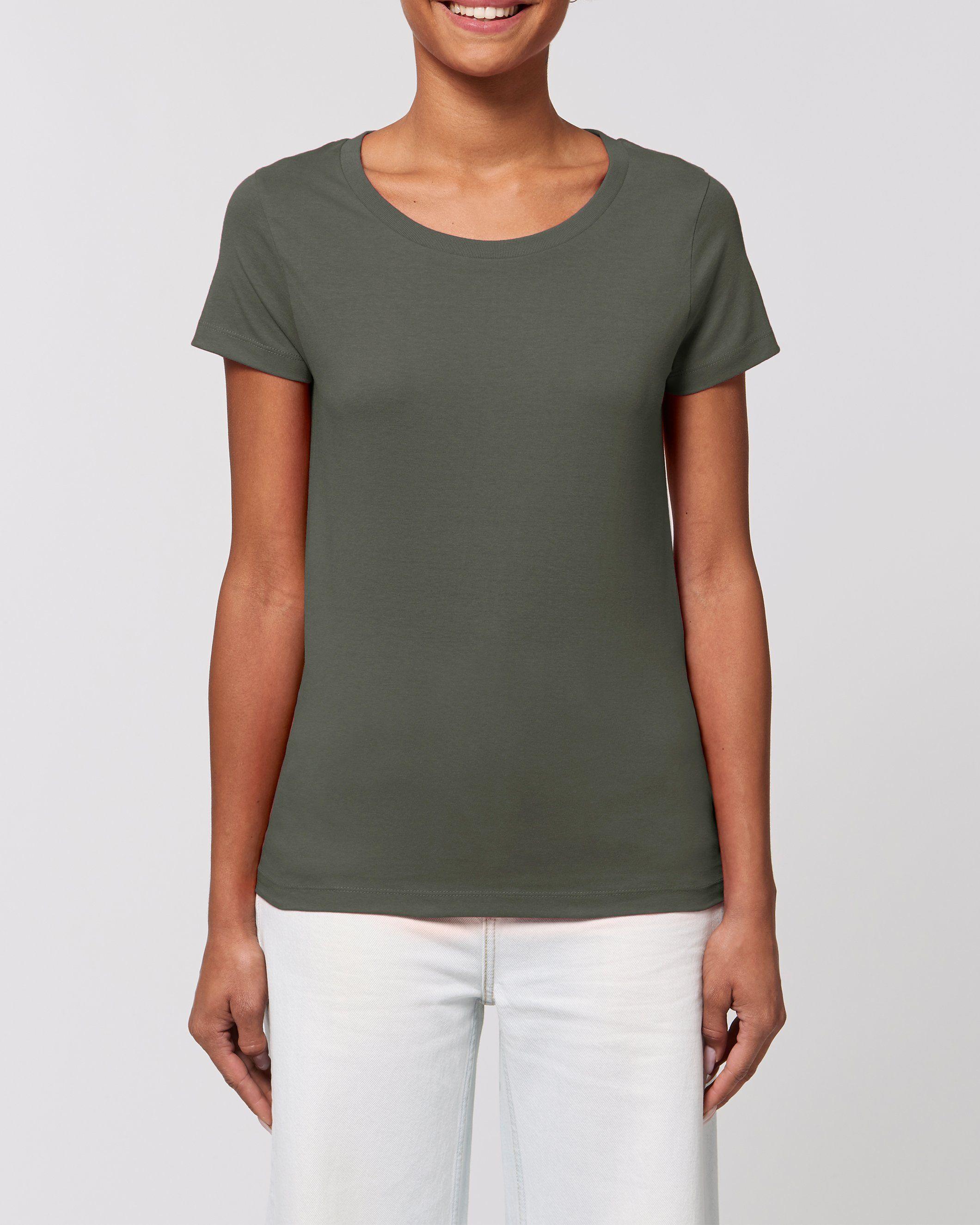 Laya Women's T-Shirt in Khaki