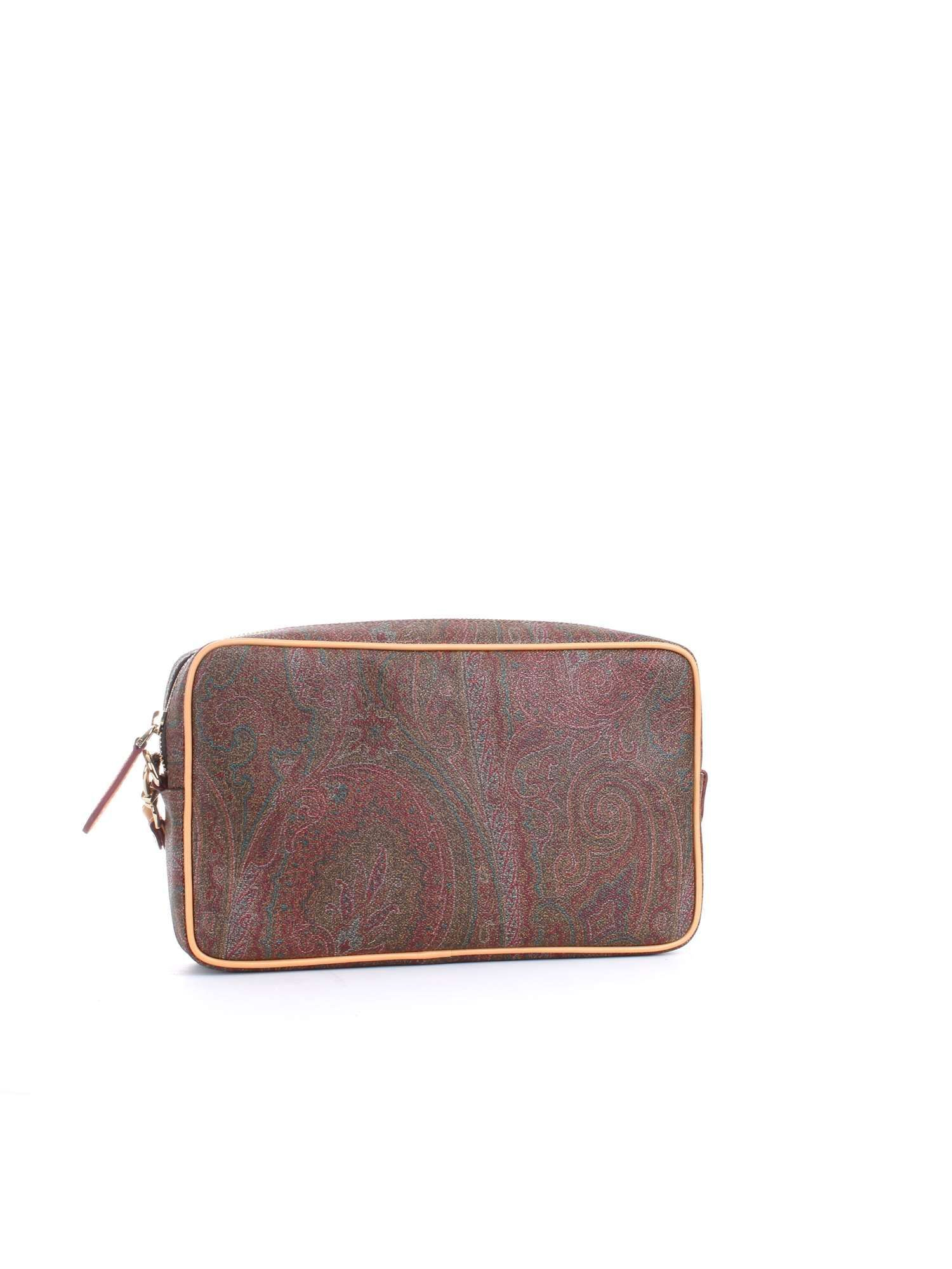ETRO MEN'S 0H7688007600 MULTICOLOR FAUX LEATHER BEAUTY CASE
