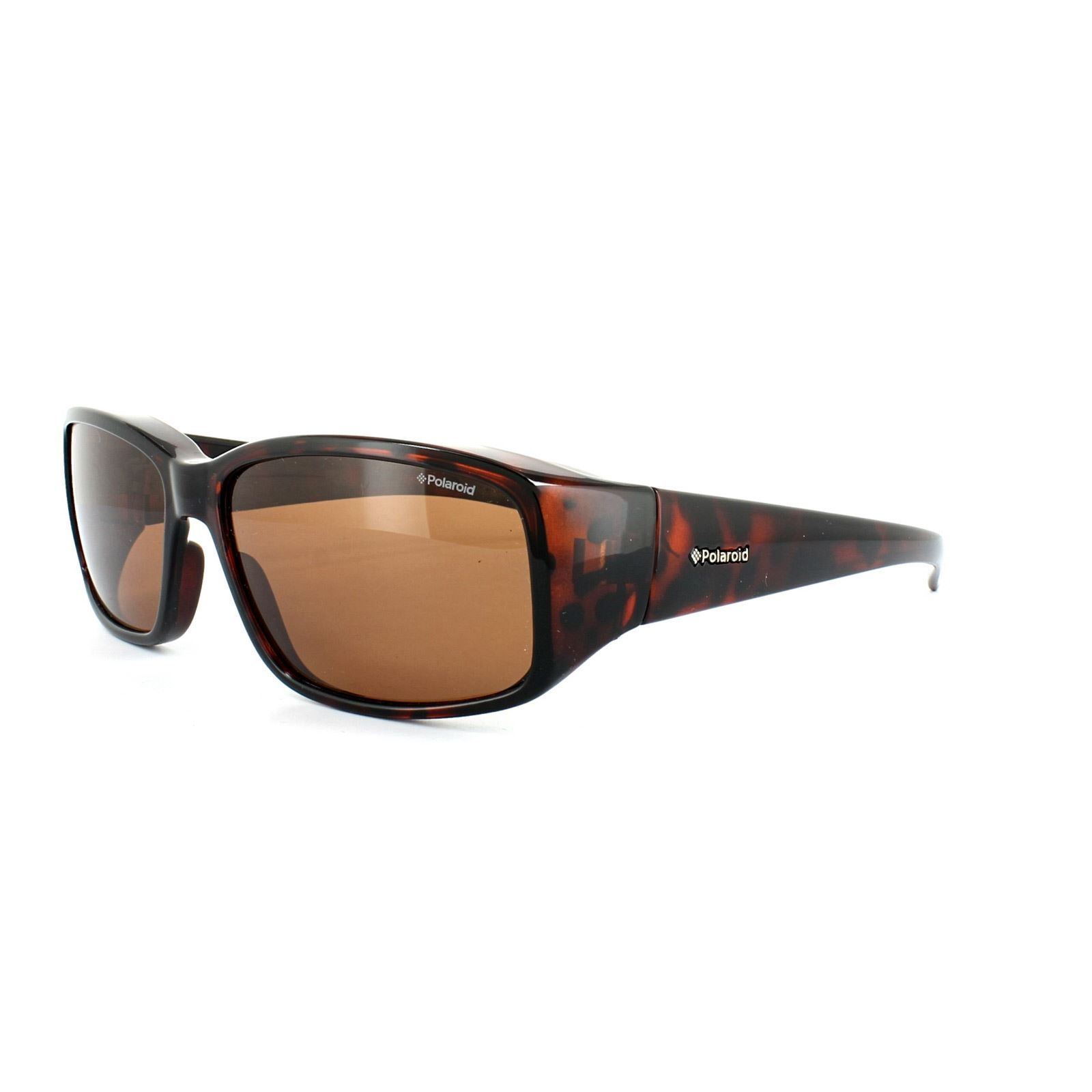 Polaroid Suncovers Fitover Sunglasses P8306 0BM C2 Havana Dark Copper Polarized