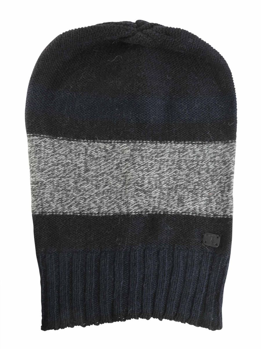 TRUSSARDI MEN'S 52931019 MULTICOLOR WOOL HAT