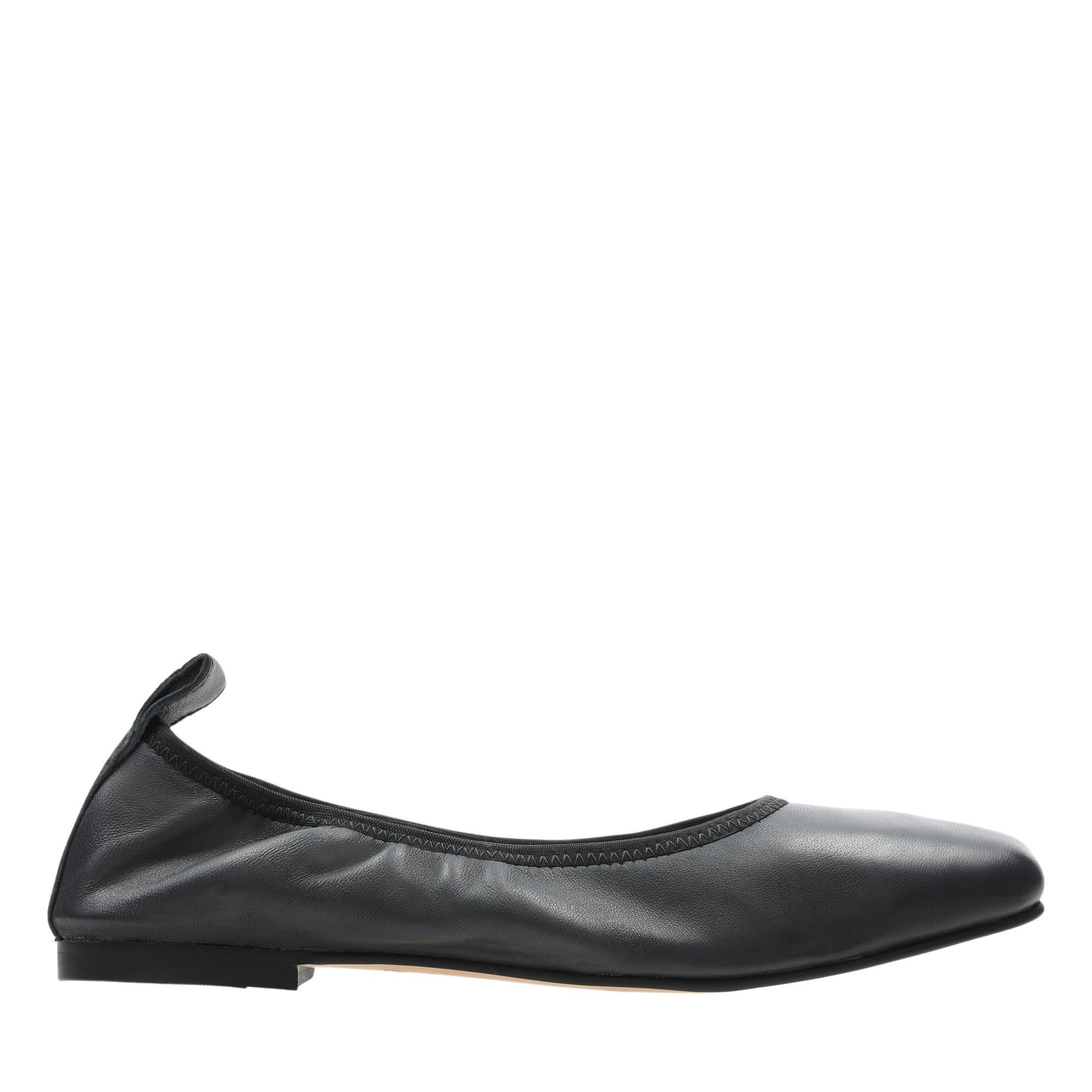 Clarks Pure Ballet 26158475 Black Leather