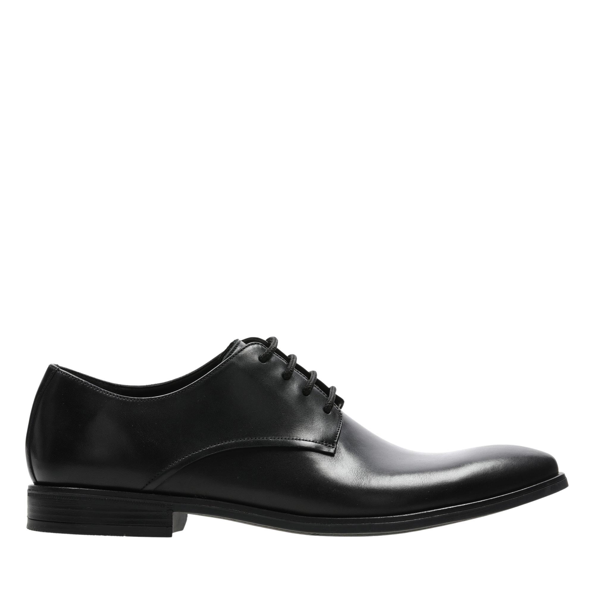Clarks Stanford Walk 26147893 Black Leather