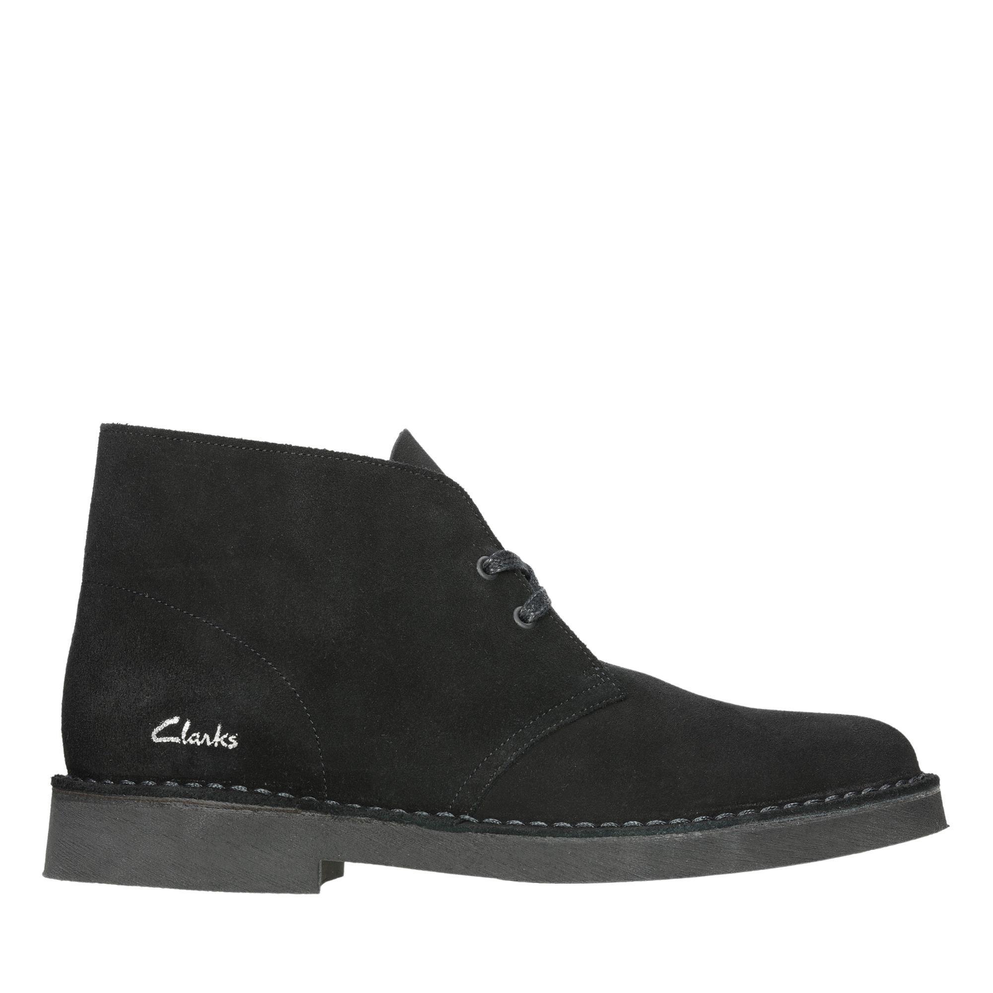 Clarks Desert Boot 2 26155499 Black Suede