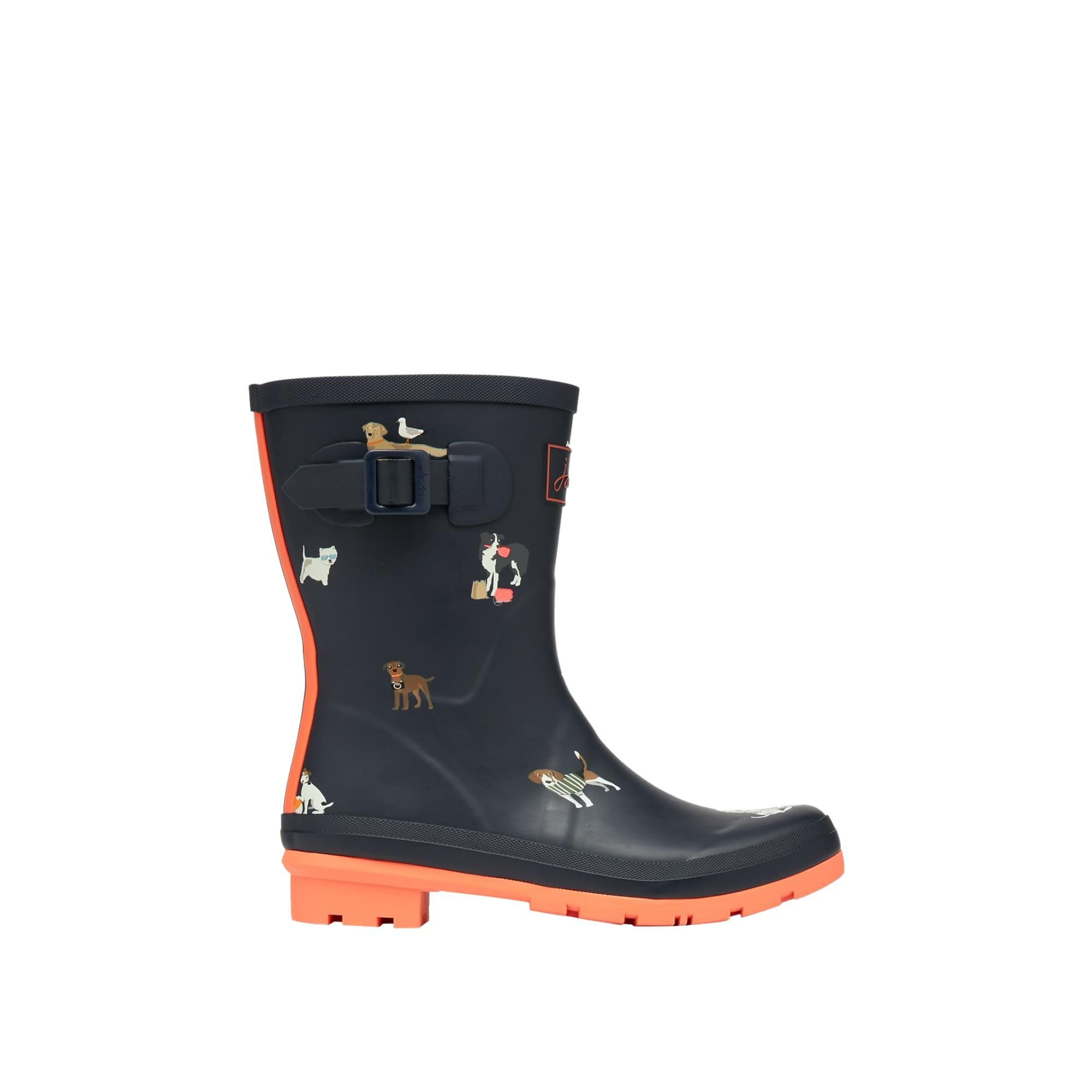 Joules Molly Welly 212646 Navy Beach Dogs