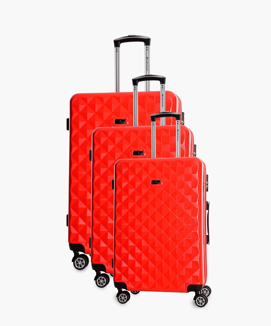 Platinium Luggage GREENLANE Luggage ROUGE