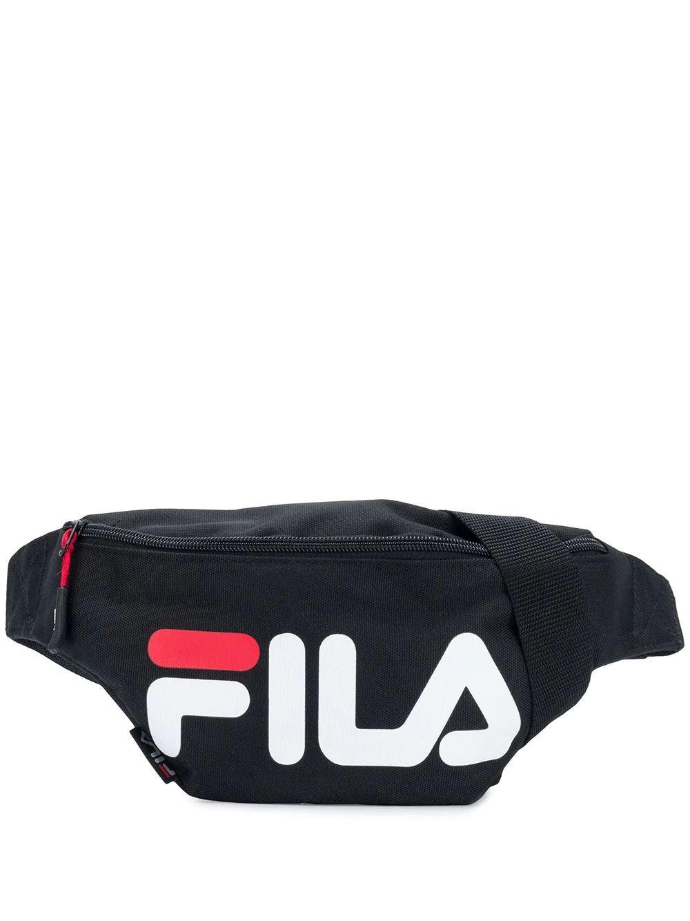 FILA  WOMEN'S 685003002 BLACK POLYESTER BELT BAG