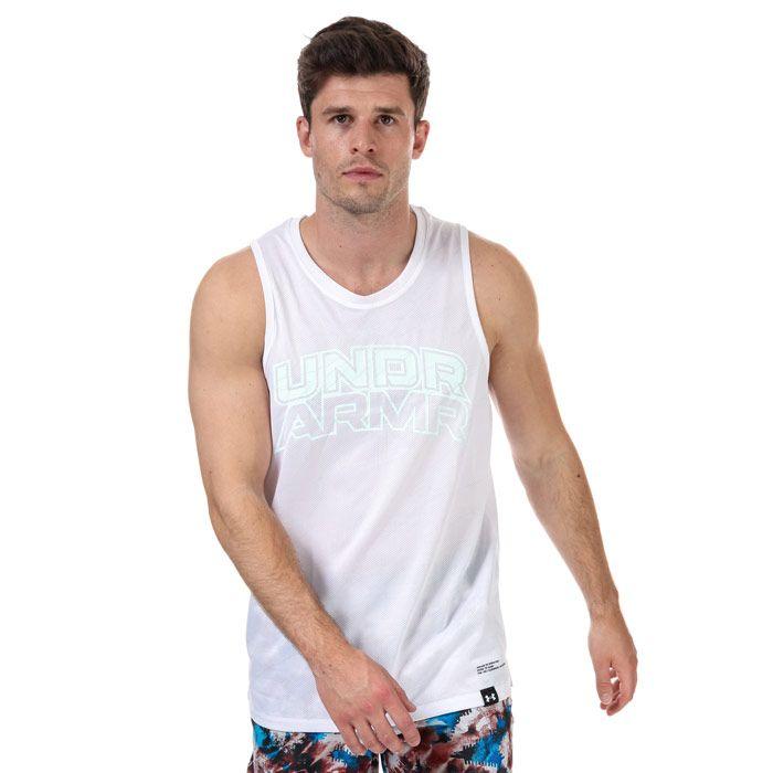 Men's Under Armour Futures Retro Vest in White